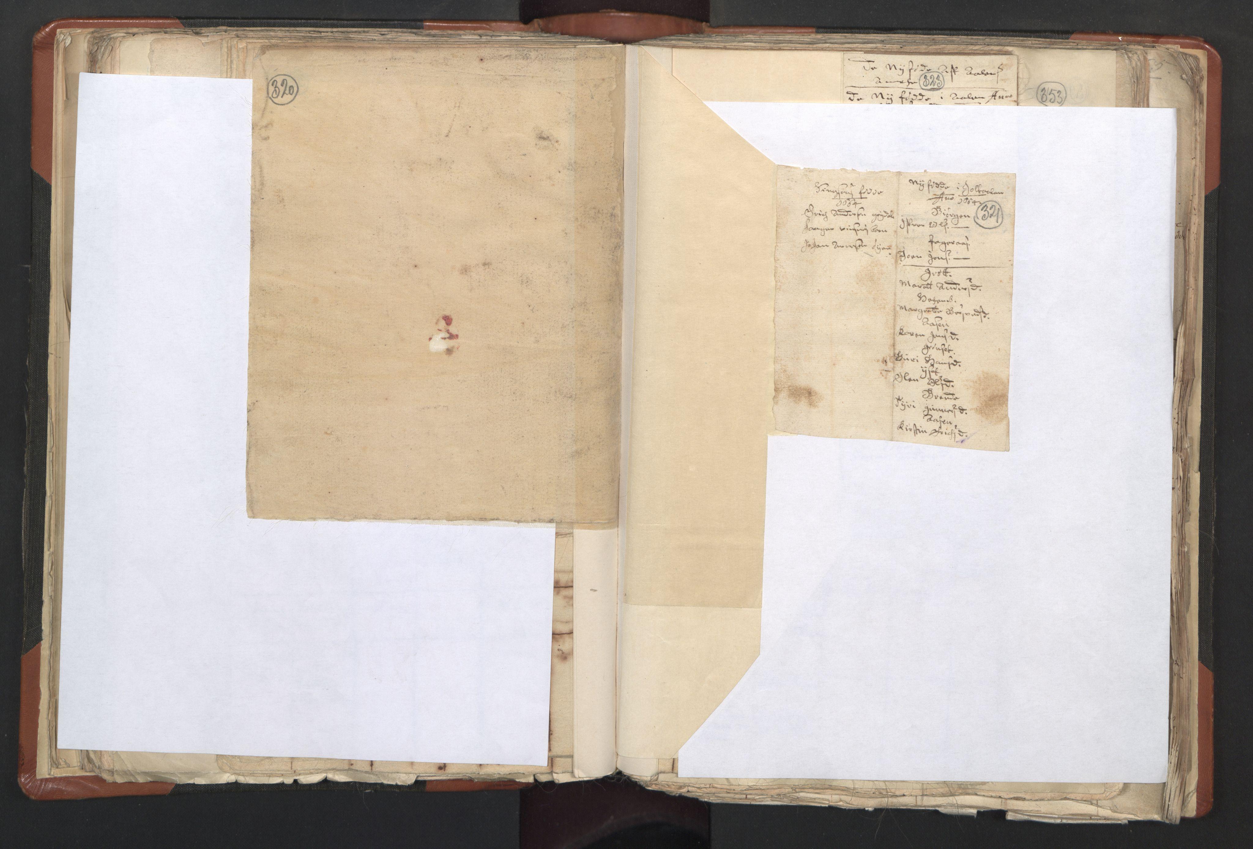 RA, Sogneprestenes manntall 1664-1666, nr. 31: Dalane prosti, 1664-1666, s. 320-321