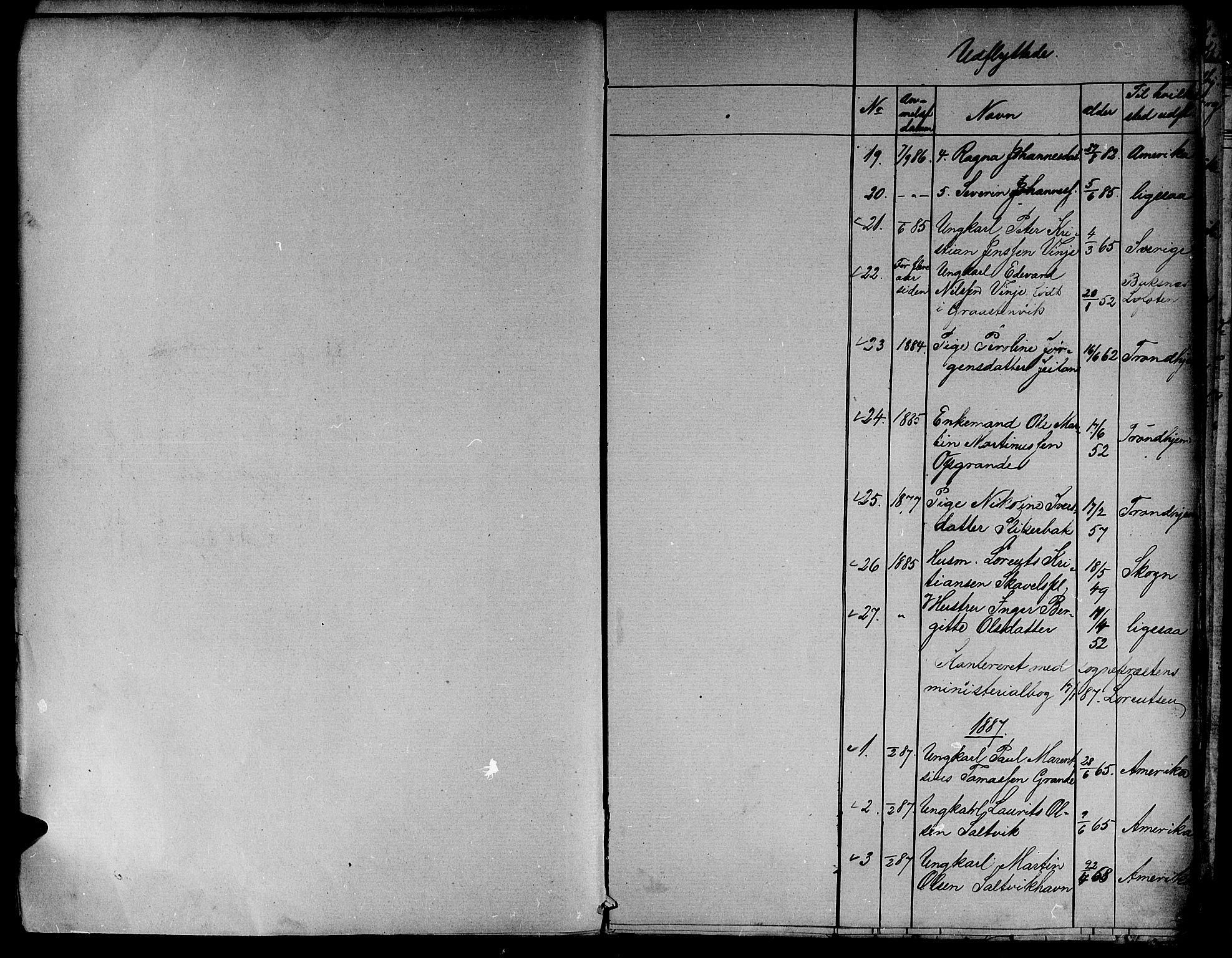 SAT, Ministerialprotokoller, klokkerbøker og fødselsregistre - Nord-Trøndelag, 733/L0326: Klokkerbok nr. 733C01, 1871-1887, s. 196