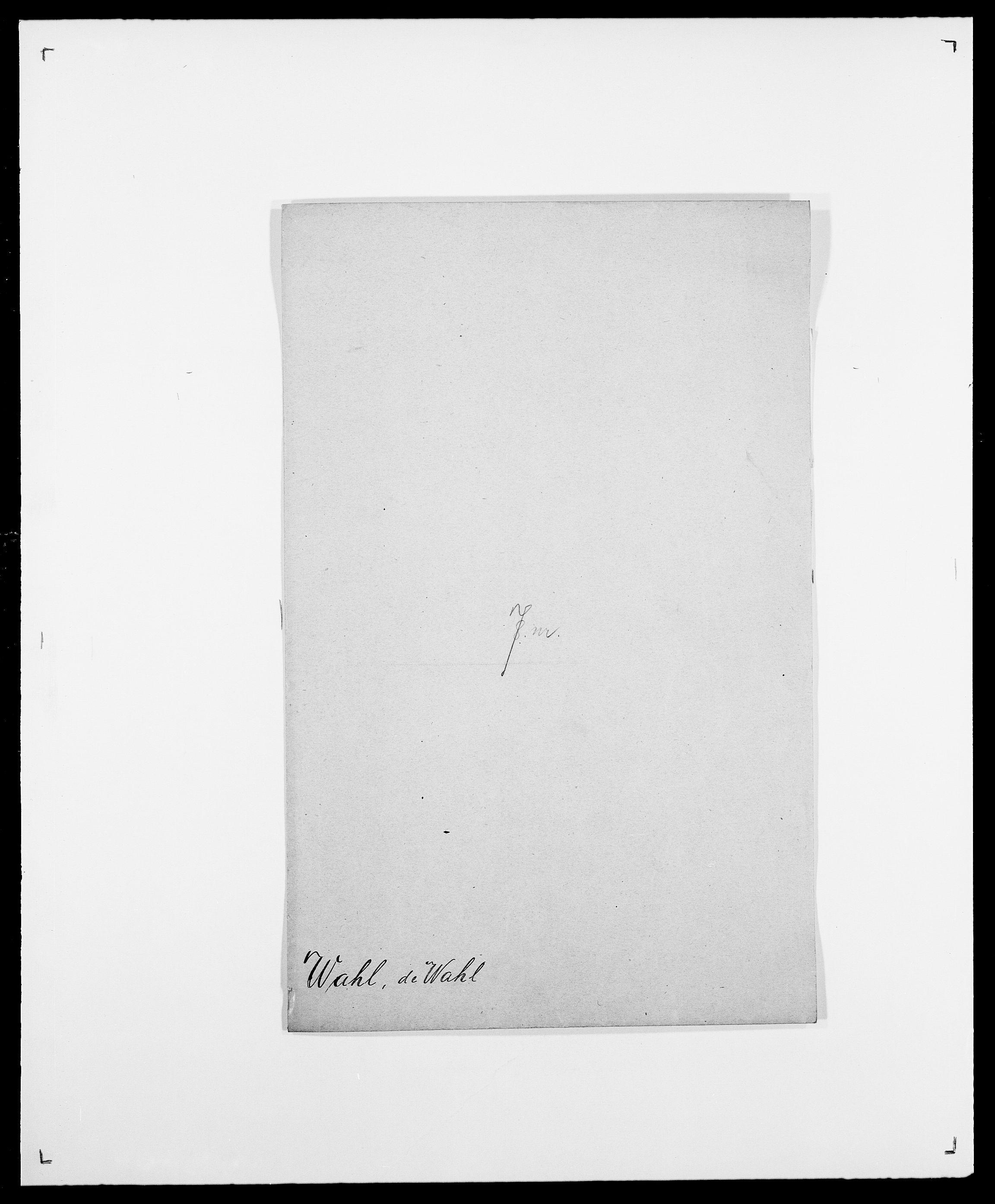 SAO, Delgobe, Charles Antoine - samling, D/Da/L0040: Usgaard - Velund, s. 106