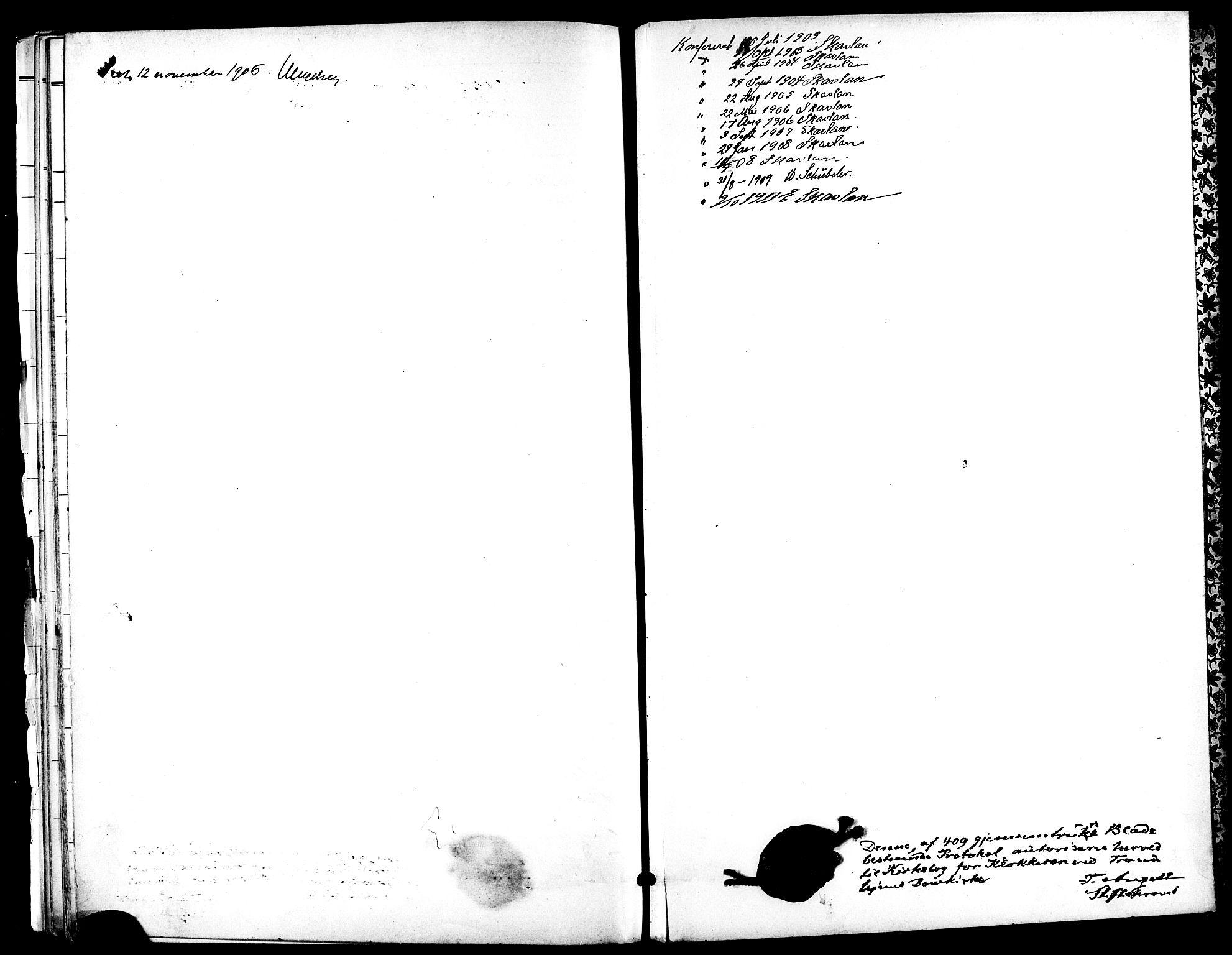 SAT, Ministerialprotokoller, klokkerbøker og fødselsregistre - Sør-Trøndelag, 601/L0094: Klokkerbok nr. 601C12, 1898-1911