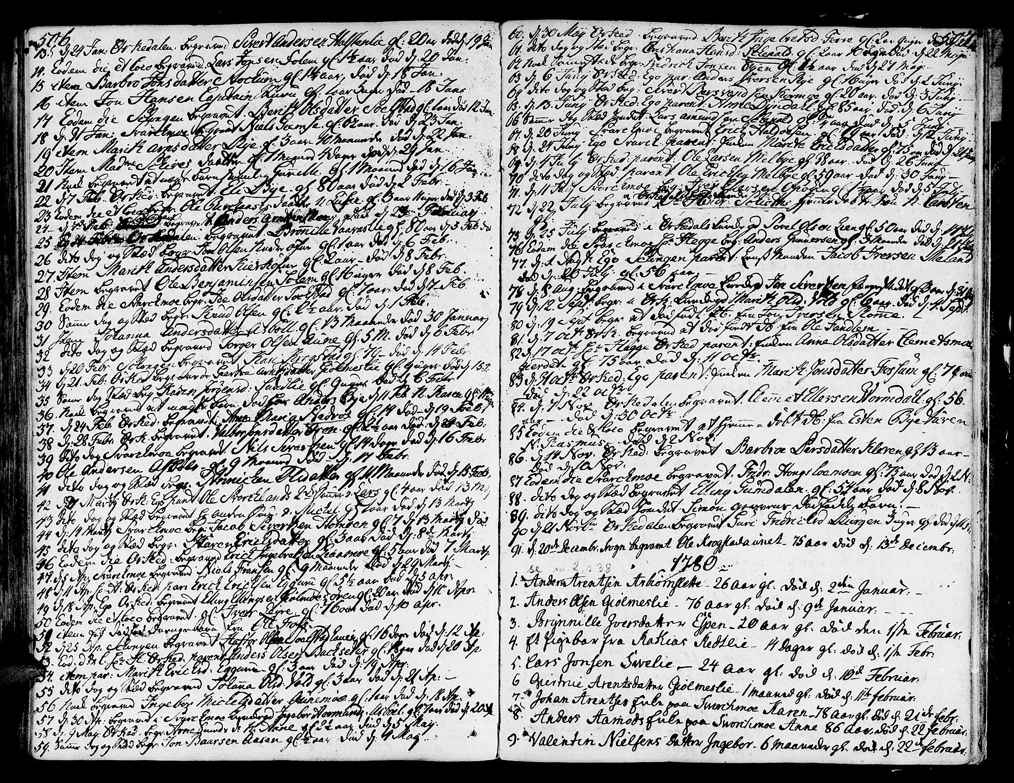 SAT, Ministerialprotokoller, klokkerbøker og fødselsregistre - Sør-Trøndelag, 668/L0802: Ministerialbok nr. 668A02, 1776-1799, s. 506-507