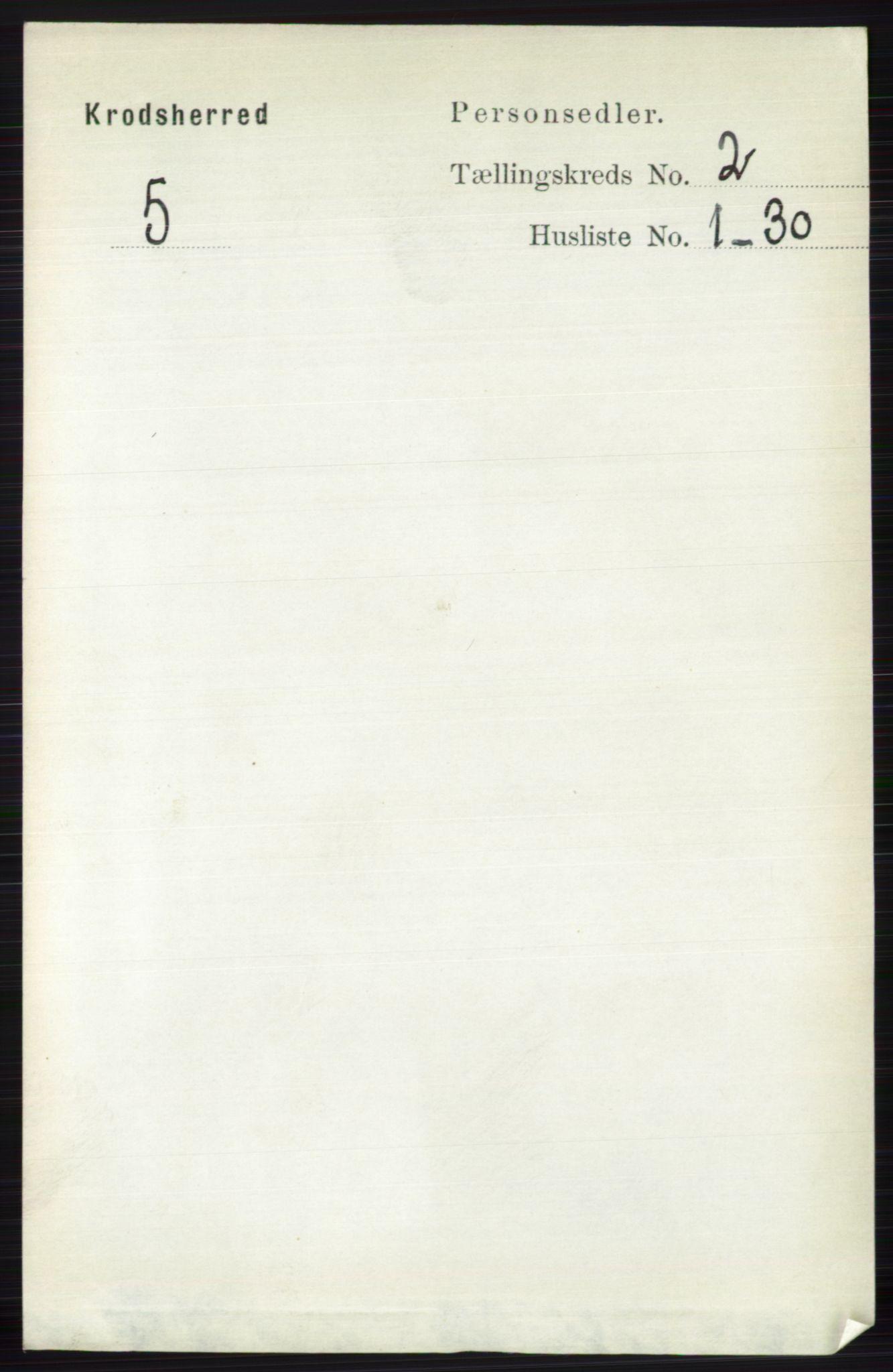 RA, Folketelling 1891 for 0621 Sigdal herred, 1891, s. 5315