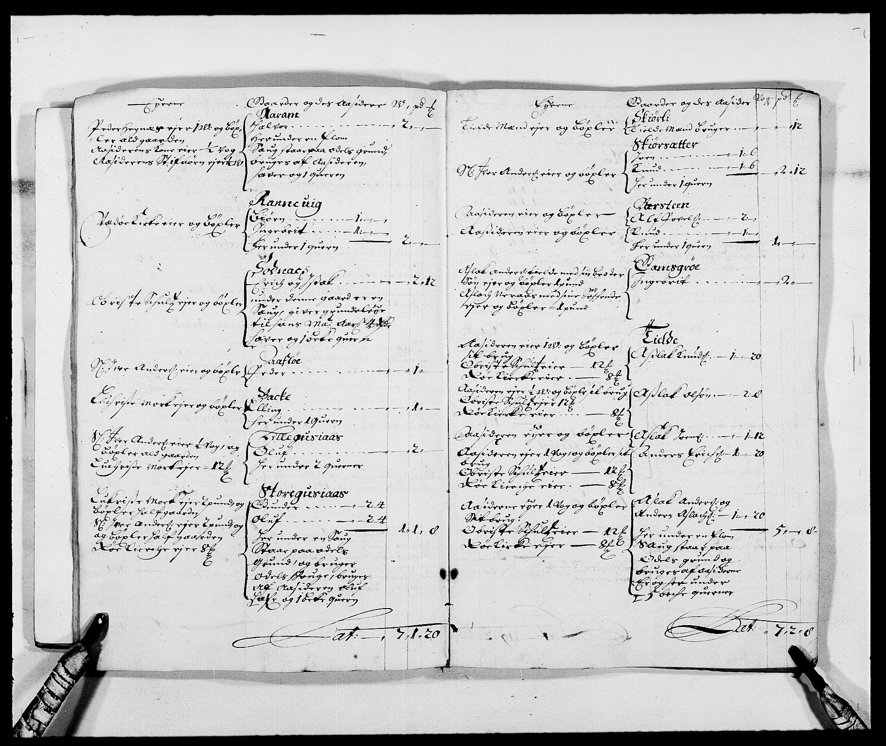 RA, Rentekammeret inntil 1814, Reviderte regnskaper, Fogderegnskap, R55/L3648: Fogderegnskap Romsdal, 1687-1689, s. 12