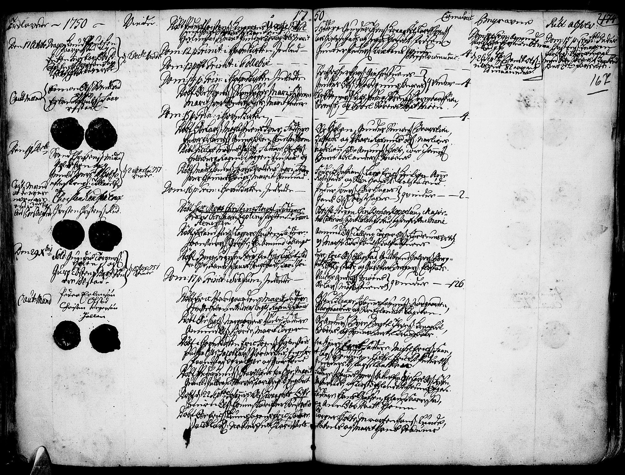 SAH, Gausdal prestekontor, Ministerialbok nr. 2, 1729-1757, s. 167