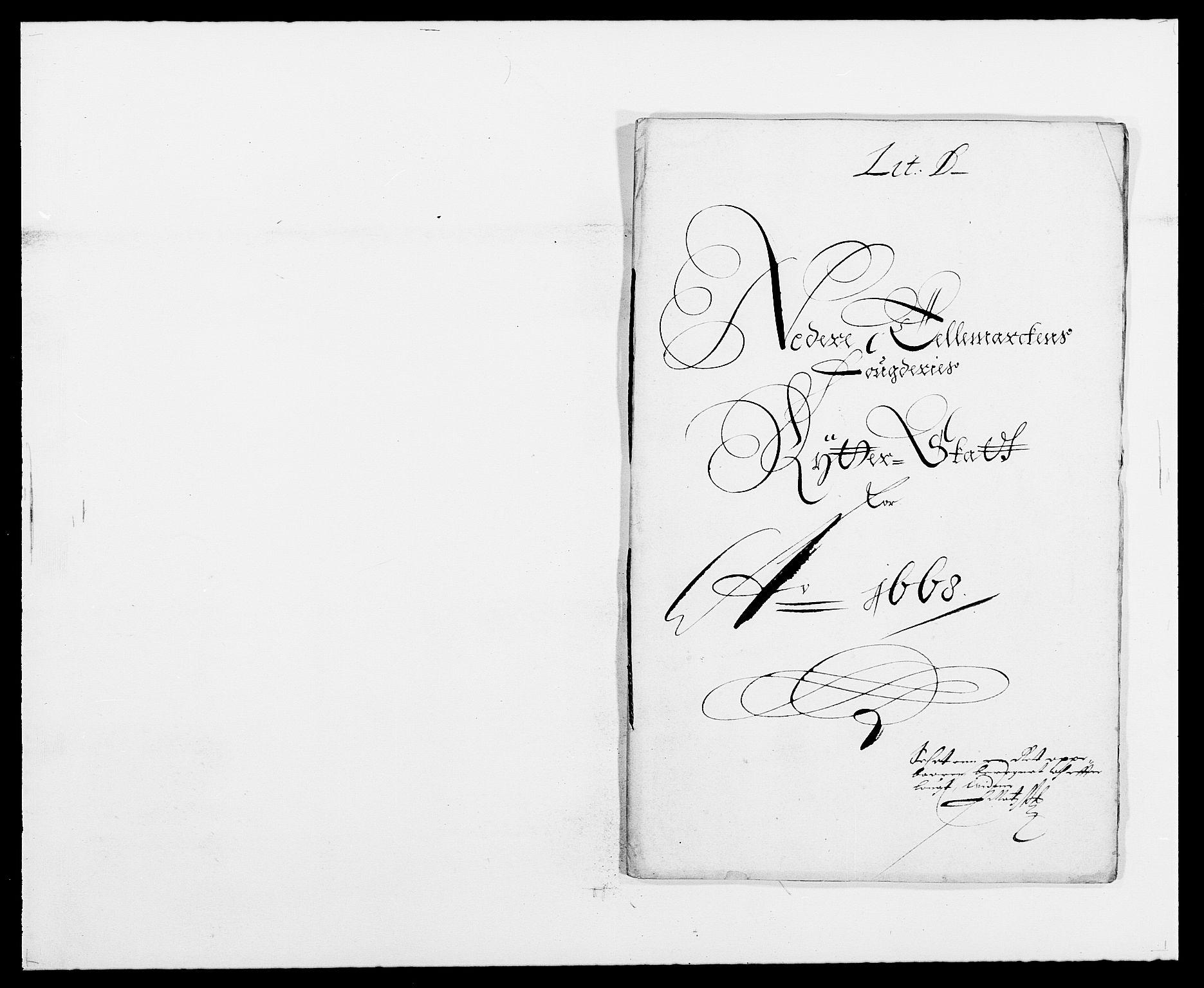 RA, Rentekammeret inntil 1814, Reviderte regnskaper, Fogderegnskap, R35/L2058: Fogderegnskap Øvre og Nedre Telemark, 1668-1670, s. 65