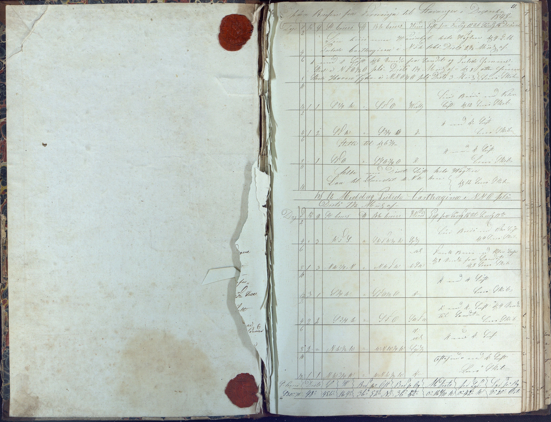 AAKS, Fartøysarkivet, F/L0062: Flere fartøy (se mappenivå), 1849-1858, s. 51