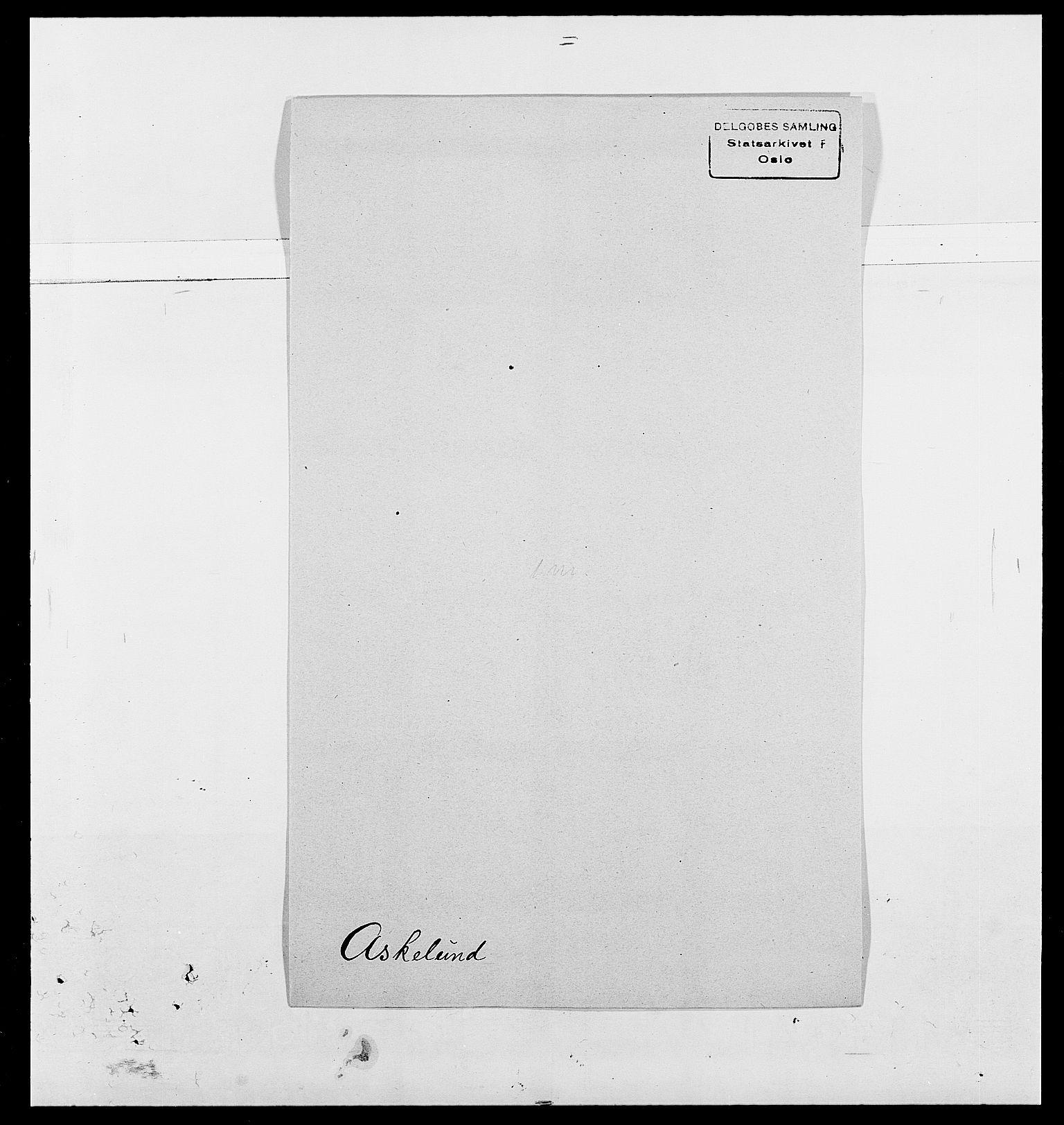 SAO, Delgobe, Charles Antoine - samling, D/Da/L0002: Anker, Ancher - Bauner, s. 429