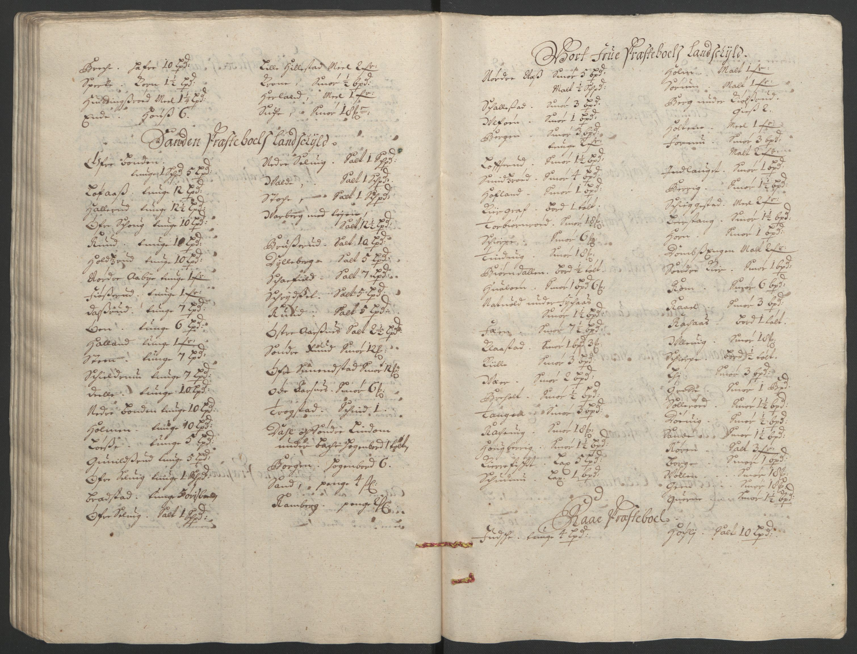 RA, Rentekammeret inntil 1814, Reviderte regnskaper, Fogderegnskap, R32/L1865: Fogderegnskap Jarlsberg grevskap, 1692, s. 361