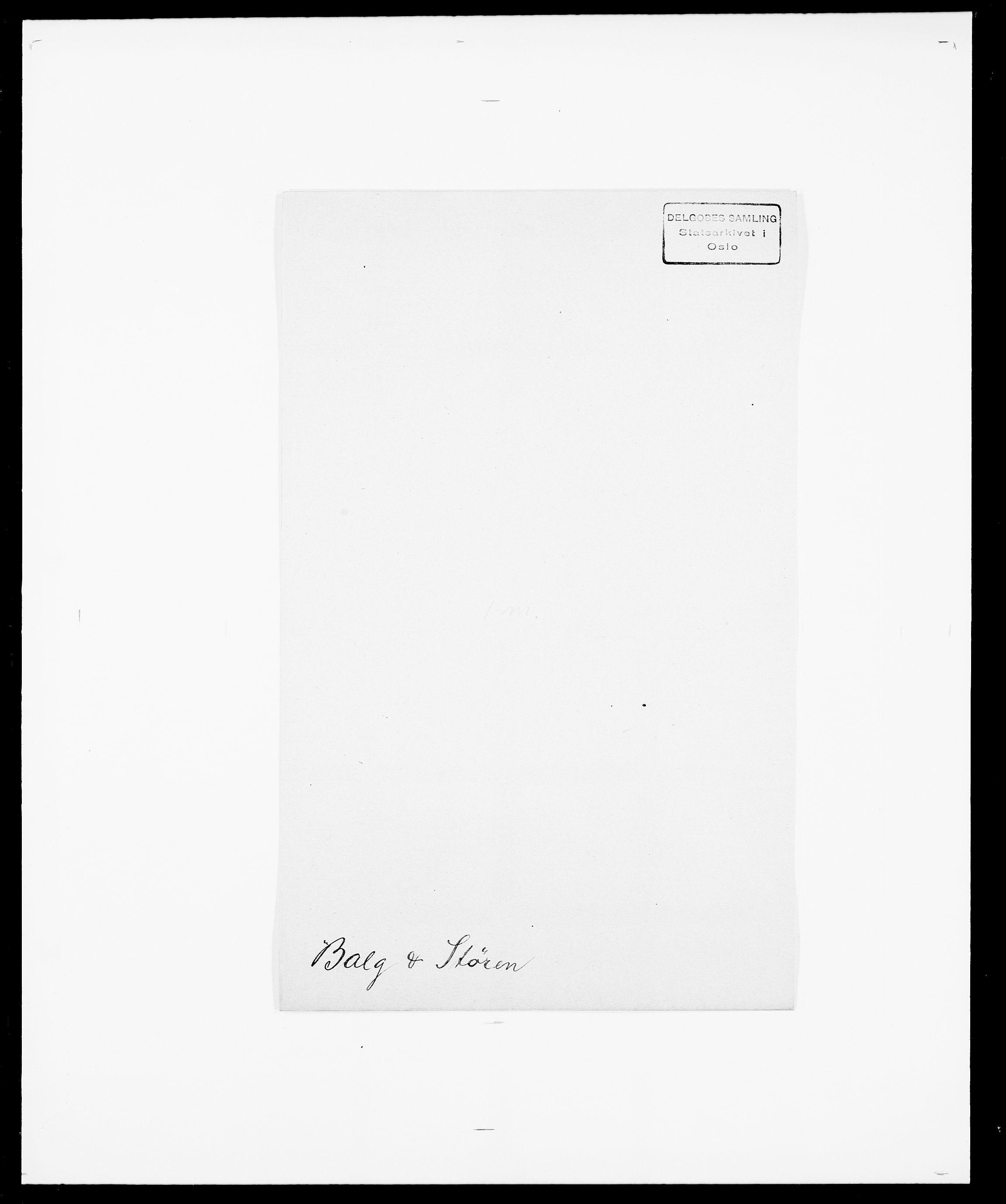 SAO, Delgobe, Charles Antoine - samling, D/Da/L0003: Barca - Bergen, s. 166