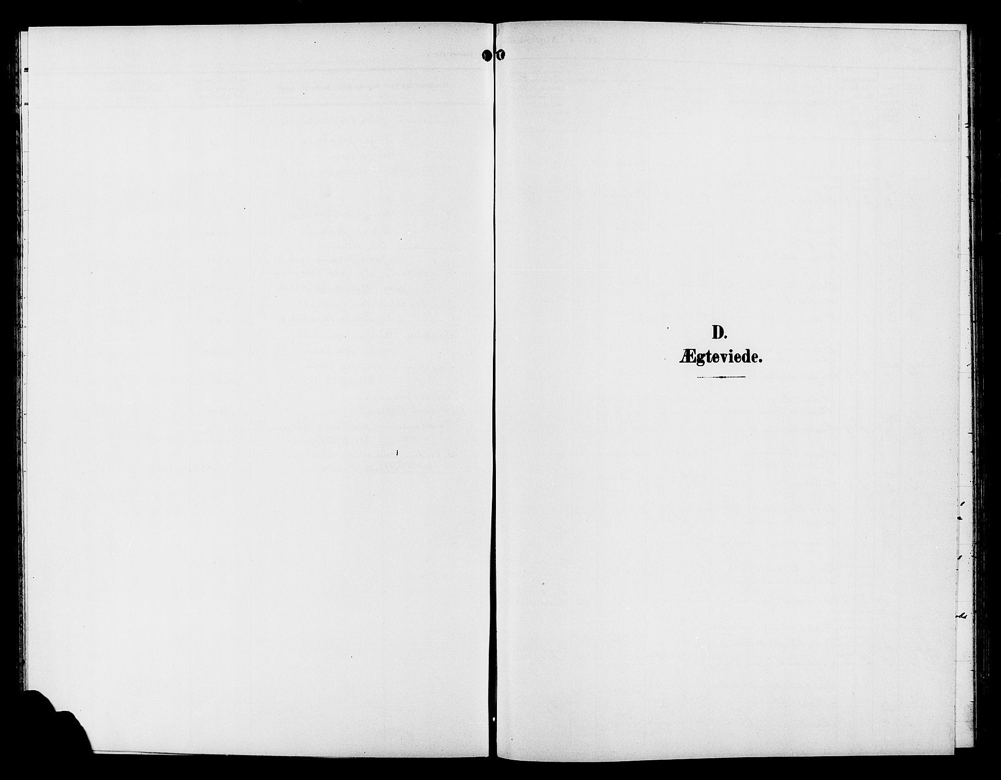 SAH, Gran prestekontor, Klokkerbok nr. 6, 1901-1911