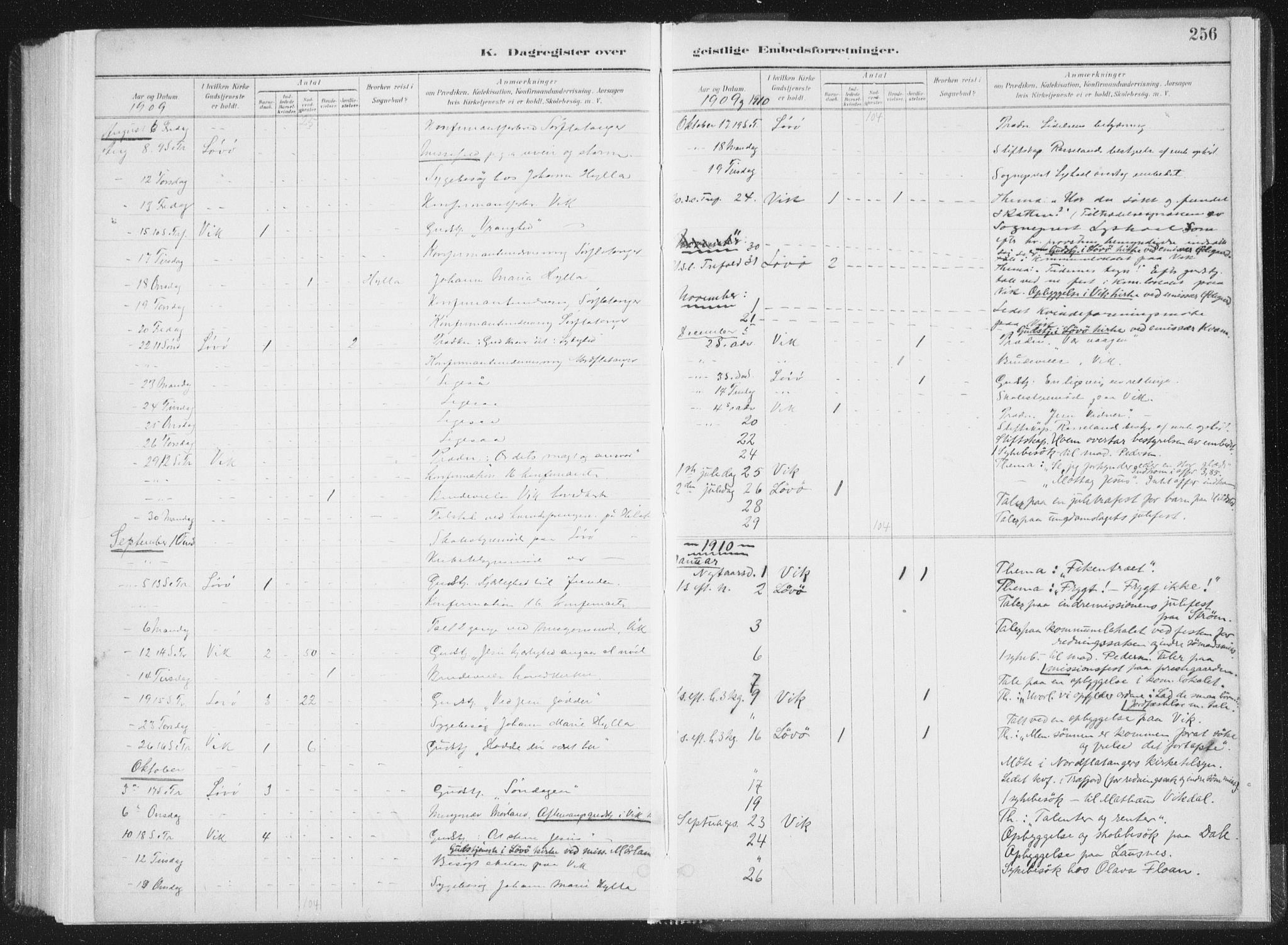 SAT, Ministerialprotokoller, klokkerbøker og fødselsregistre - Nord-Trøndelag, 771/L0597: Ministerialbok nr. 771A04, 1885-1910, s. 256