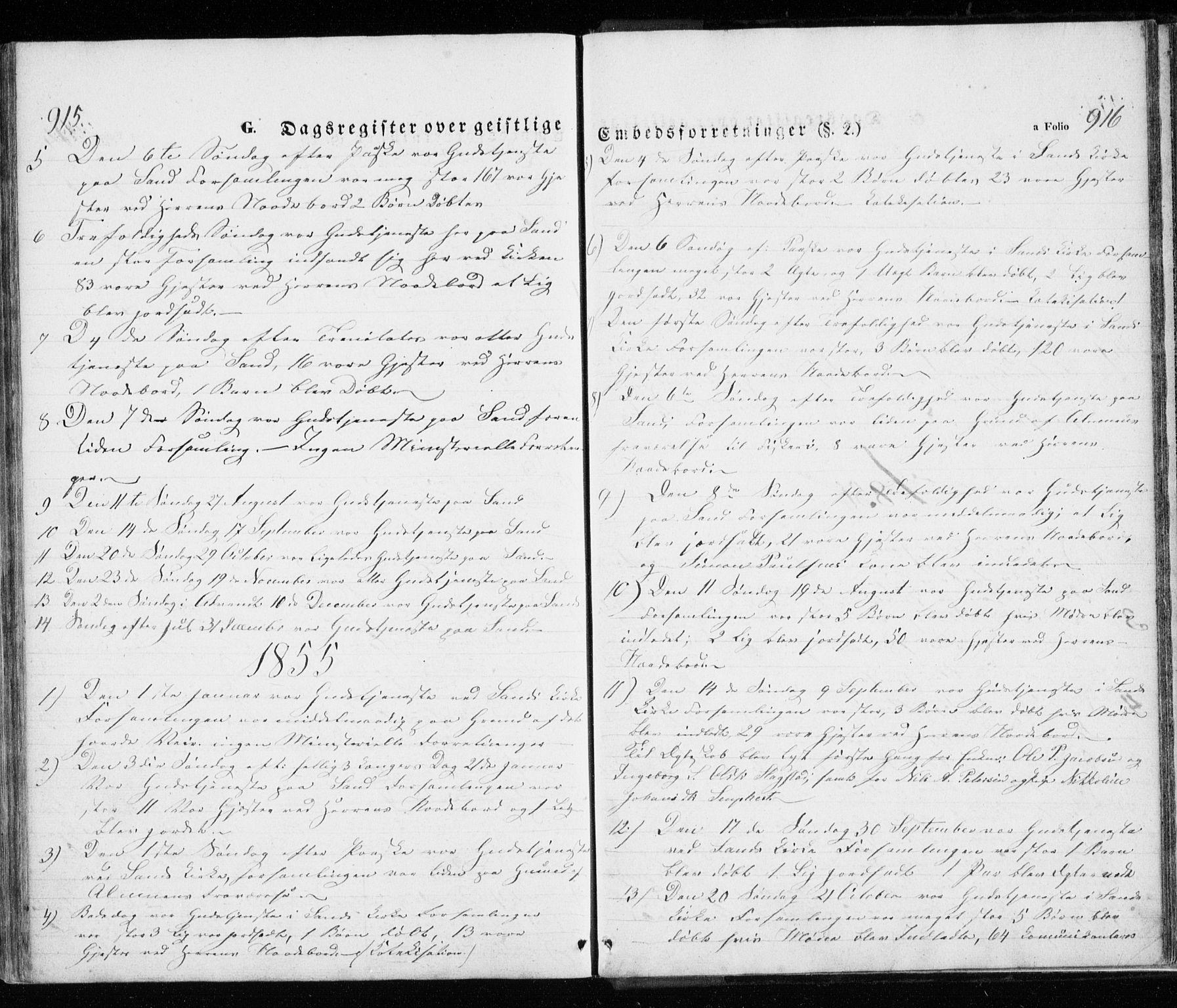 SATØ, Trondenes sokneprestkontor, H/Ha/L0010kirke: Ministerialbok nr. 10, 1840-1865, s. 915-916