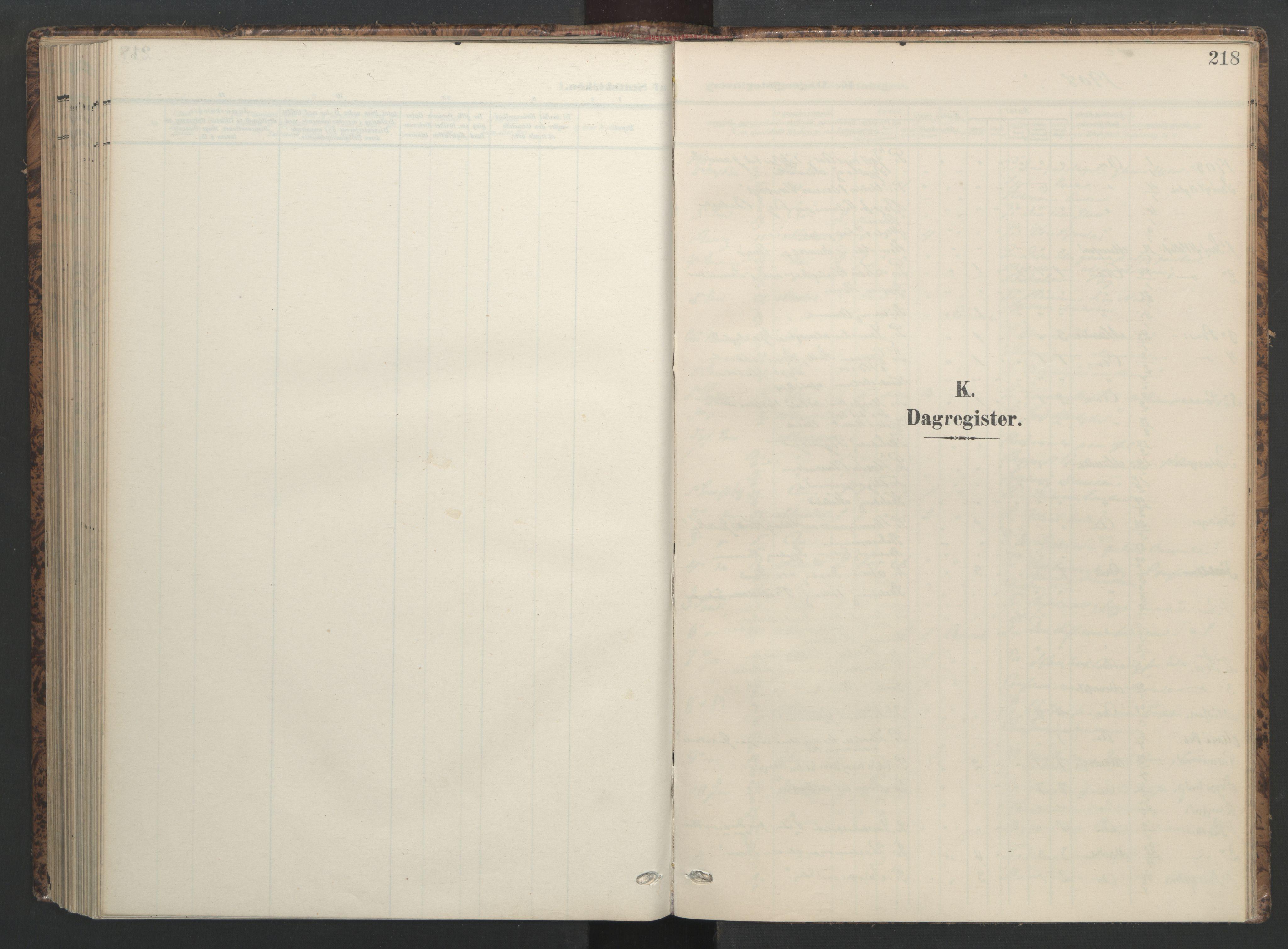 SAT, Ministerialprotokoller, klokkerbøker og fødselsregistre - Sør-Trøndelag, 655/L0682: Ministerialbok nr. 655A11, 1908-1922, s. 218