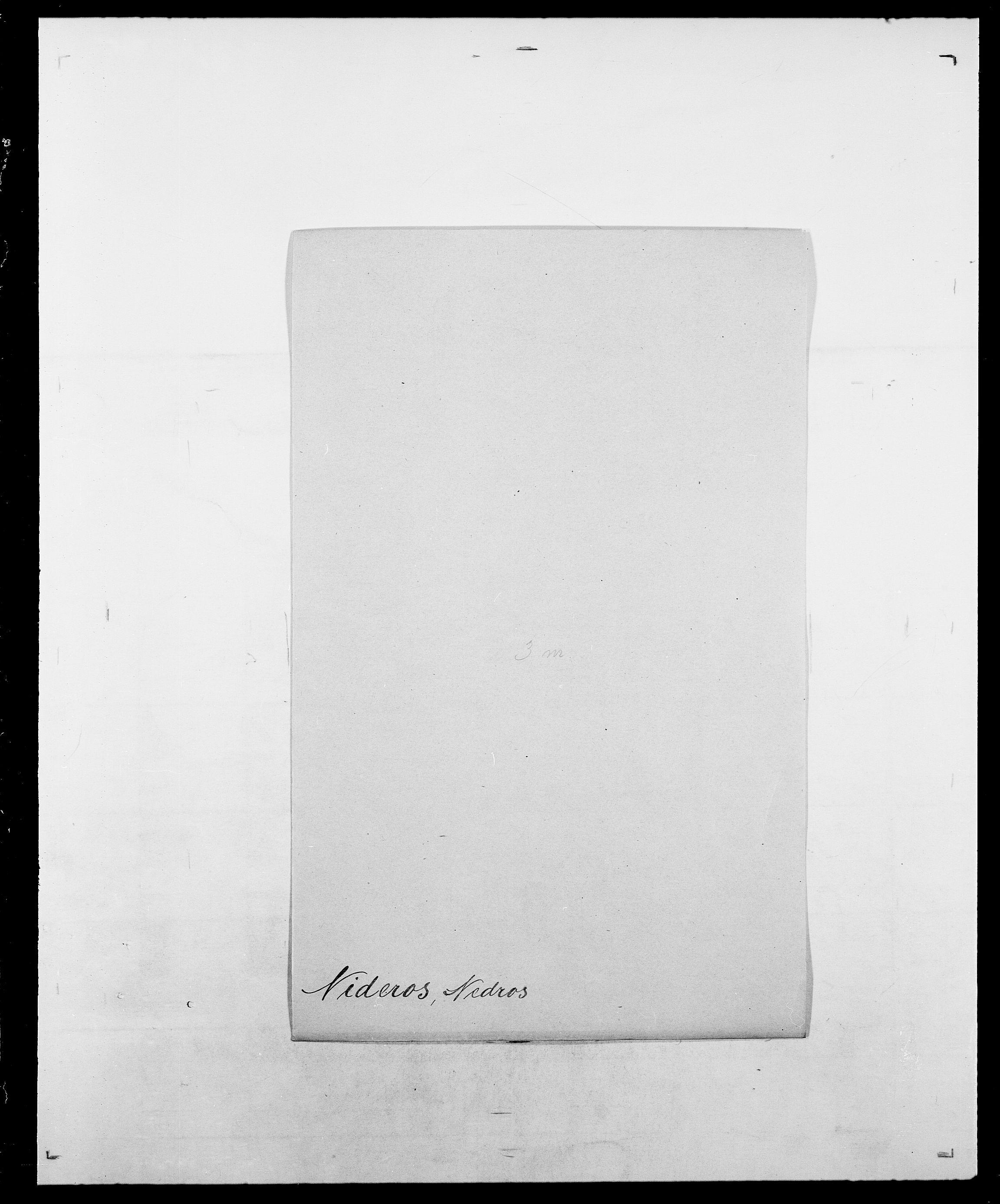 SAO, Delgobe, Charles Antoine - samling, D/Da/L0028: Naaden - Nøvik, s. 206