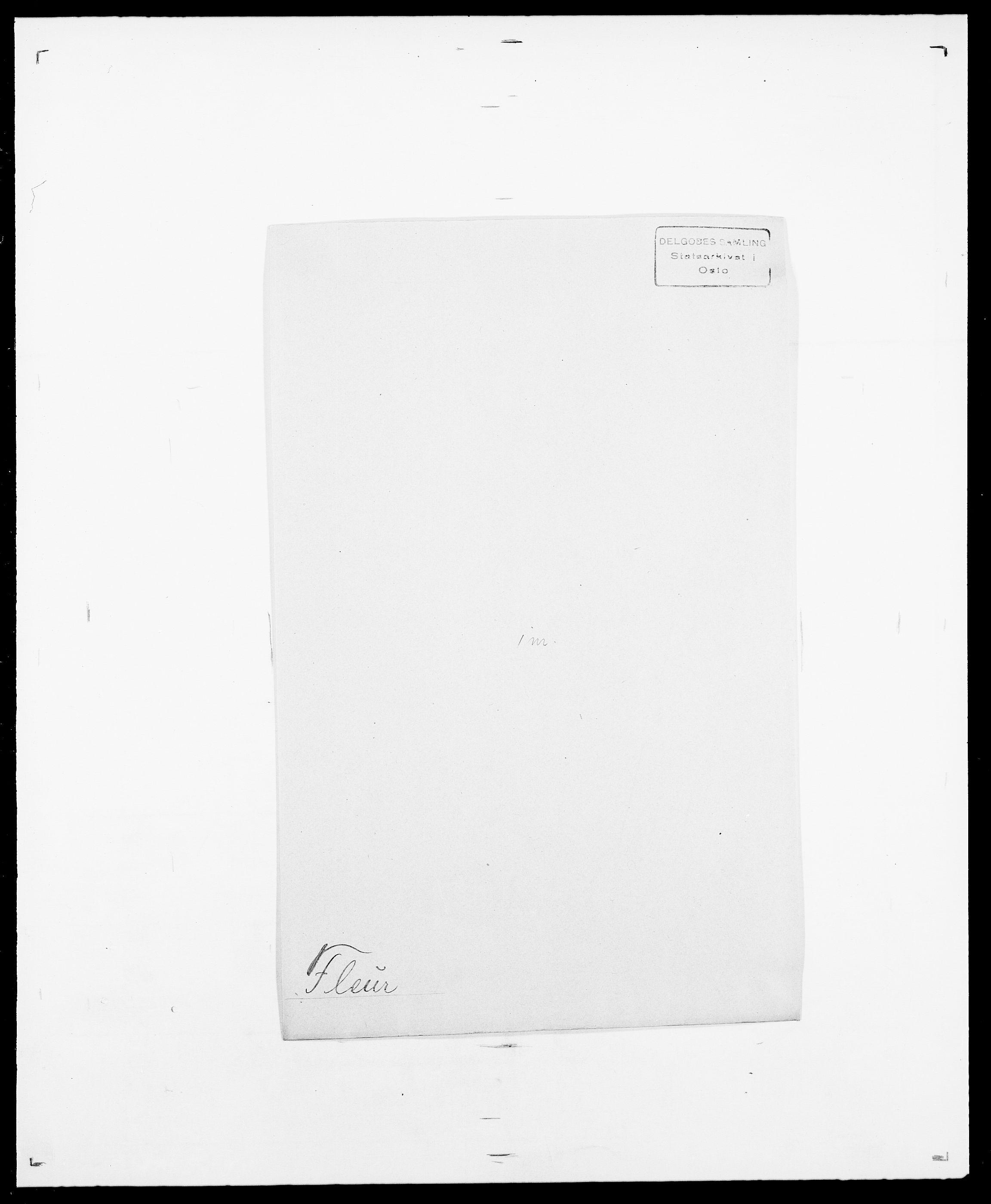 SAO, Delgobe, Charles Antoine - samling, D/Da/L0011: Fahlander - Flood, Flod, s. 630