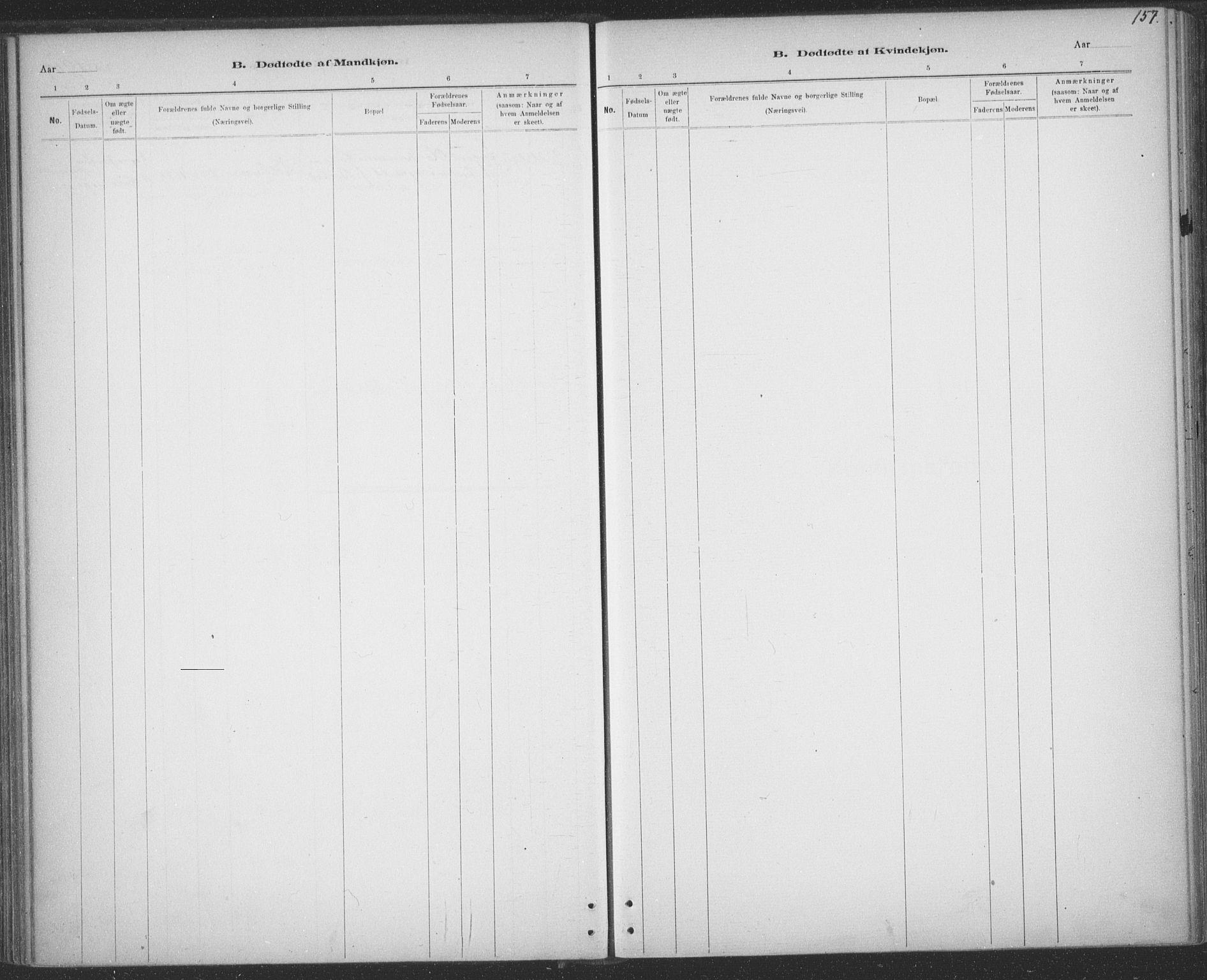 SAT, Ministerialprotokoller, klokkerbøker og fødselsregistre - Sør-Trøndelag, 691/L1085: Ministerialbok nr. 691A17, 1887-1908, s. 157