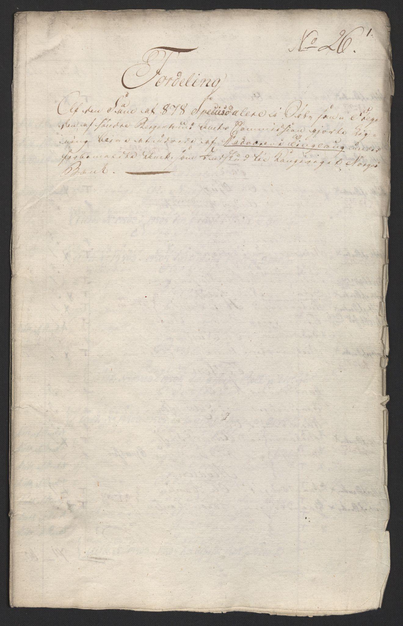 NOBA, Norges Bank/Sølvskatten 1816*, 1816-1824, s. 94