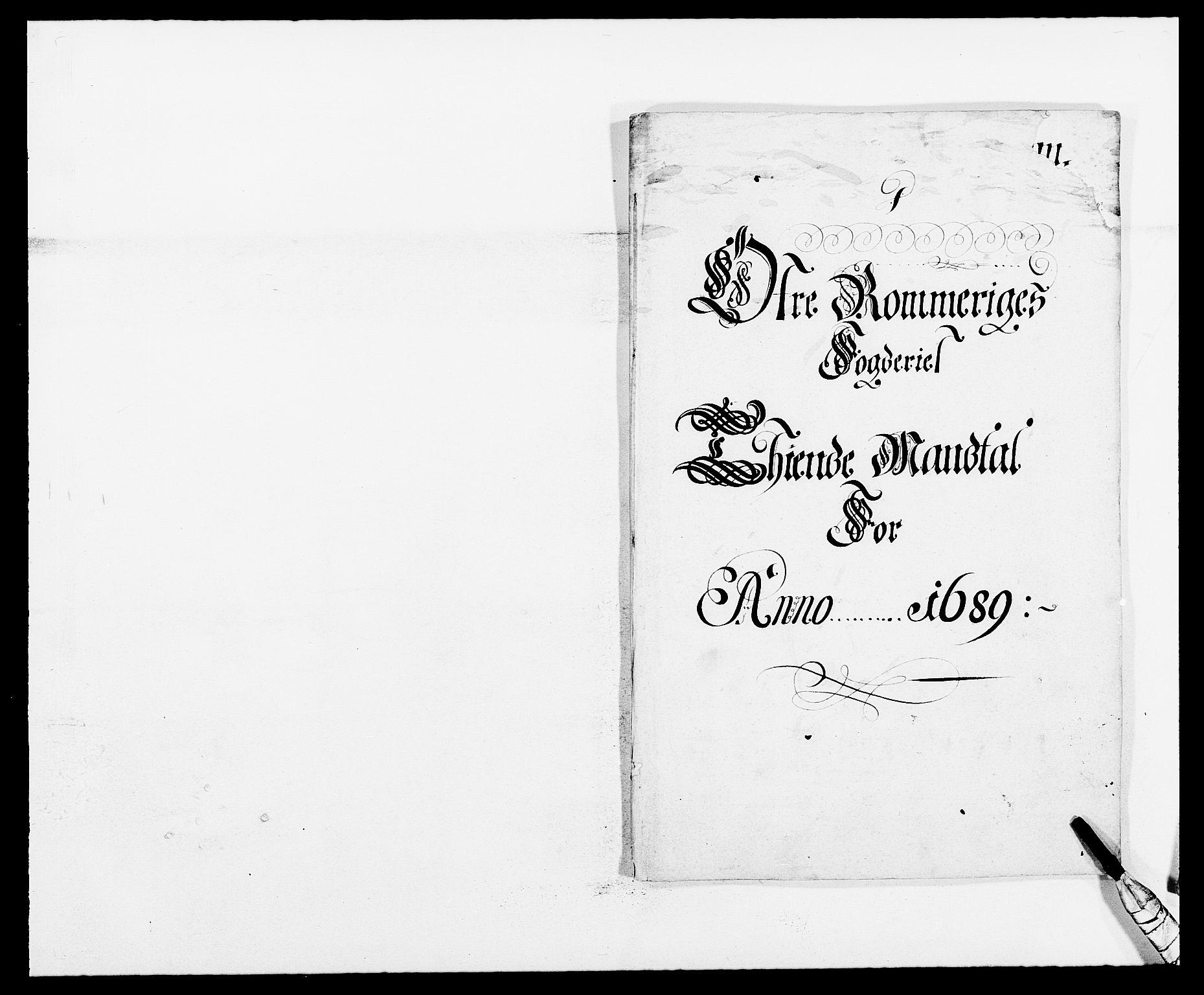 RA, Rentekammeret inntil 1814, Reviderte regnskaper, Fogderegnskap, R12/L0701: Fogderegnskap Øvre Romerike, 1689, s. 61