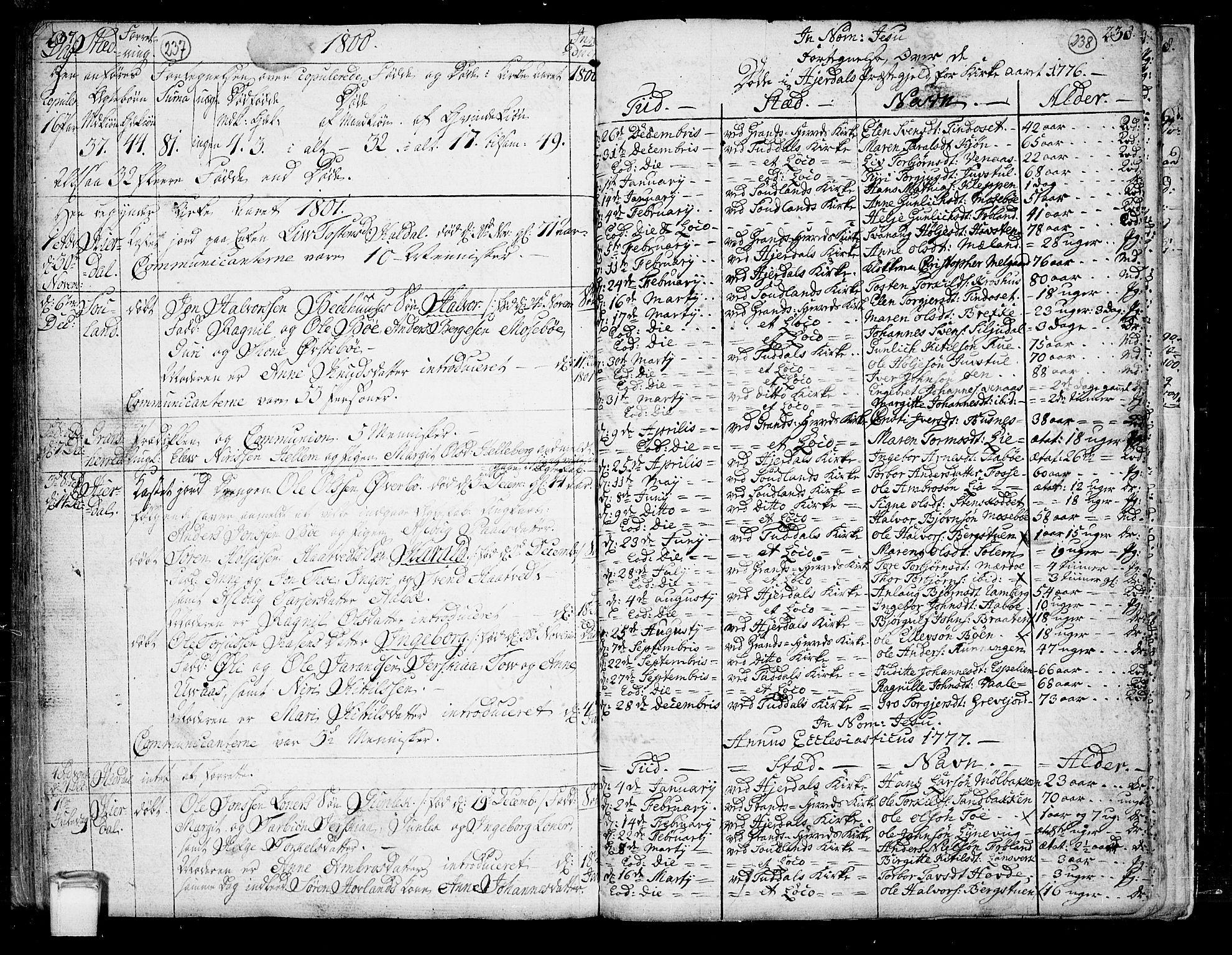 SAKO, Hjartdal kirkebøker, F/Fa/L0005: Ministerialbok nr. I 5, 1776-1801, s. 237-238