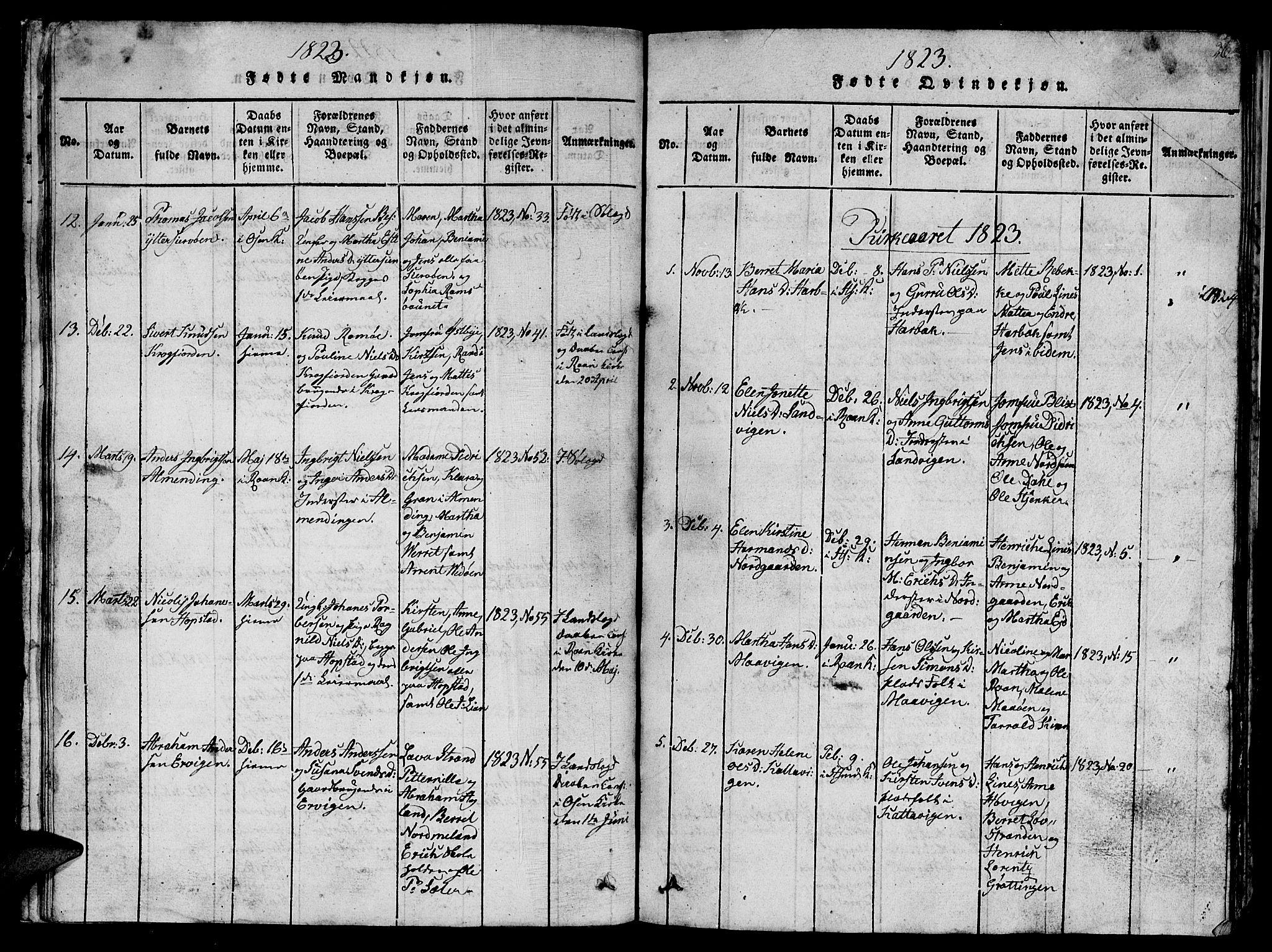 SAT, Ministerialprotokoller, klokkerbøker og fødselsregistre - Sør-Trøndelag, 657/L0714: Klokkerbok nr. 657C01, 1818-1868, s. 26
