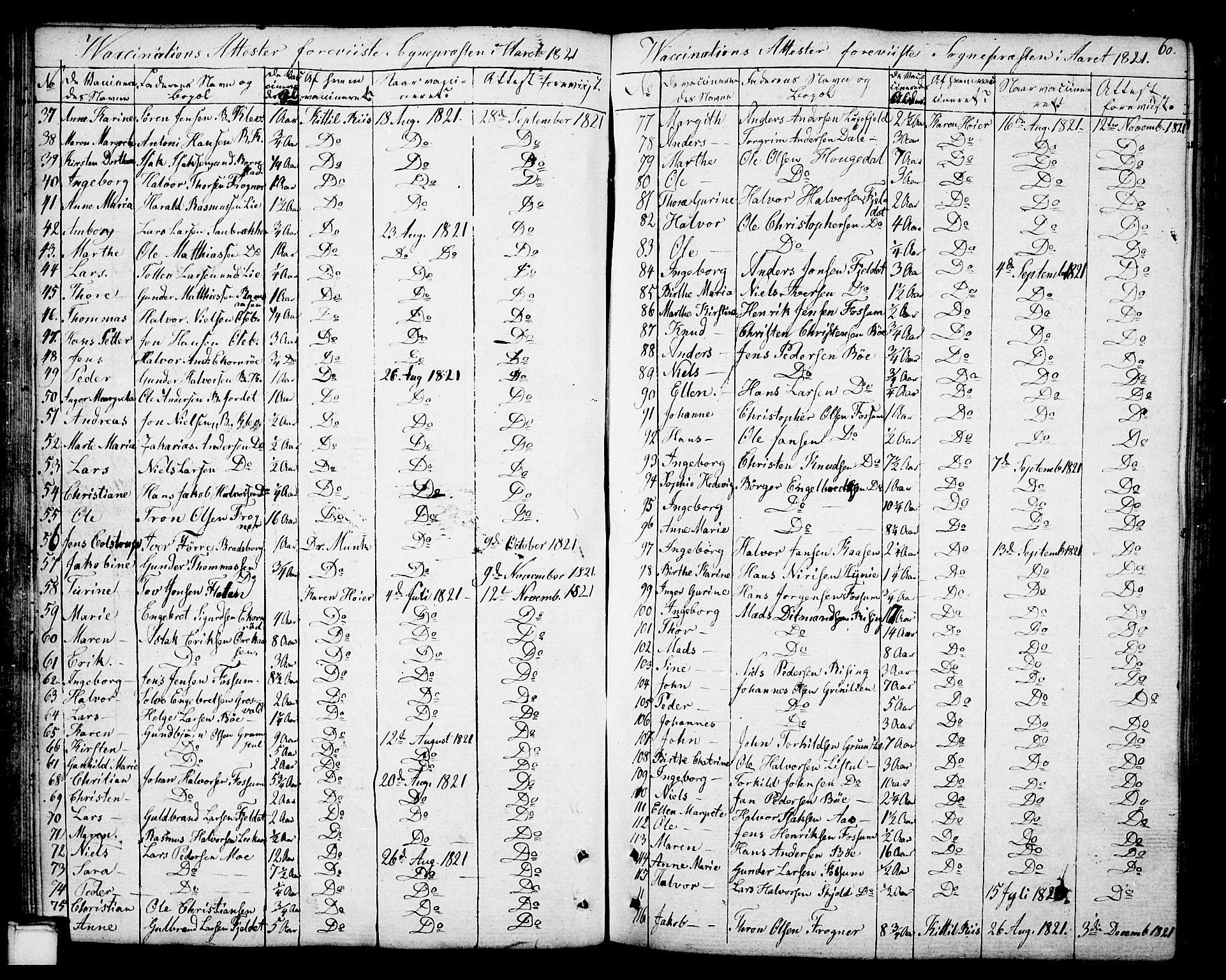 SAKO, Gjerpen kirkebøker, F/Fa/L0003: Ministerialbok nr. 3, 1796-1814, s. 60