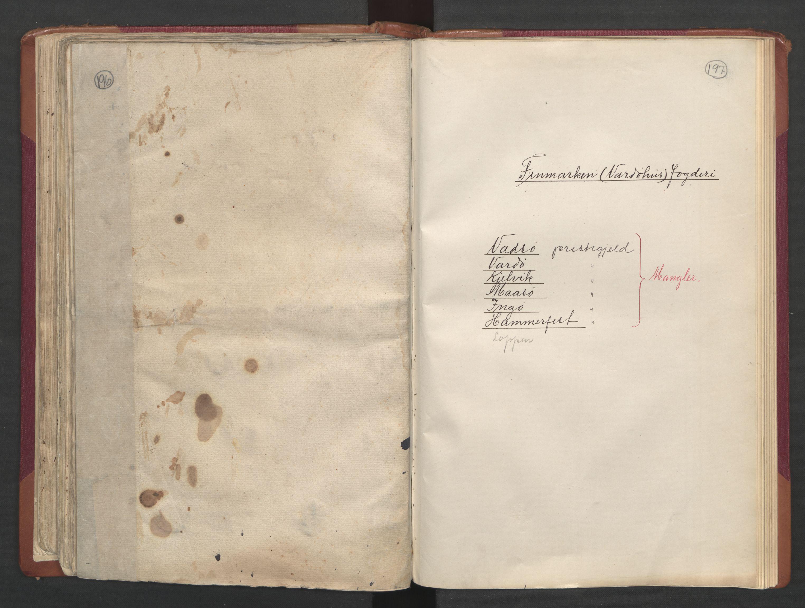 RA, Manntallet 1701, nr. 19: Senja og Tromsø fogderi, 1701, s. 196-197