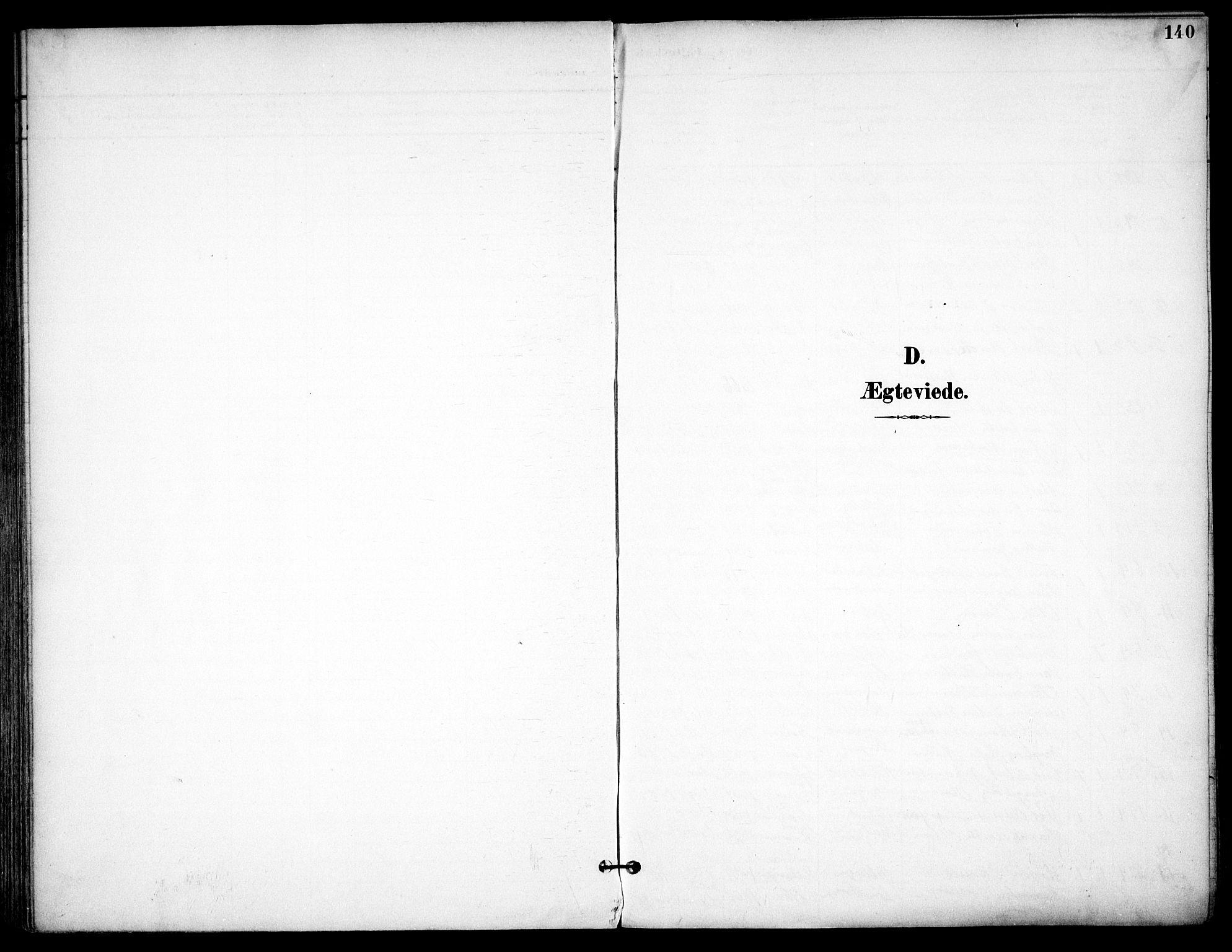 SAO, Østre Aker prestekontor Kirkebøker, F/Fa/L0011: Ministerialbok nr. I 11, 1895-1917, s. 140