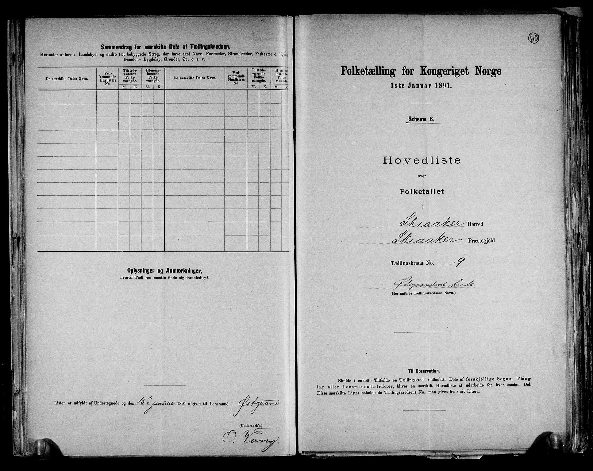 RA, Folketelling 1891 for 0513 Skjåk herred, 1891, s. 20