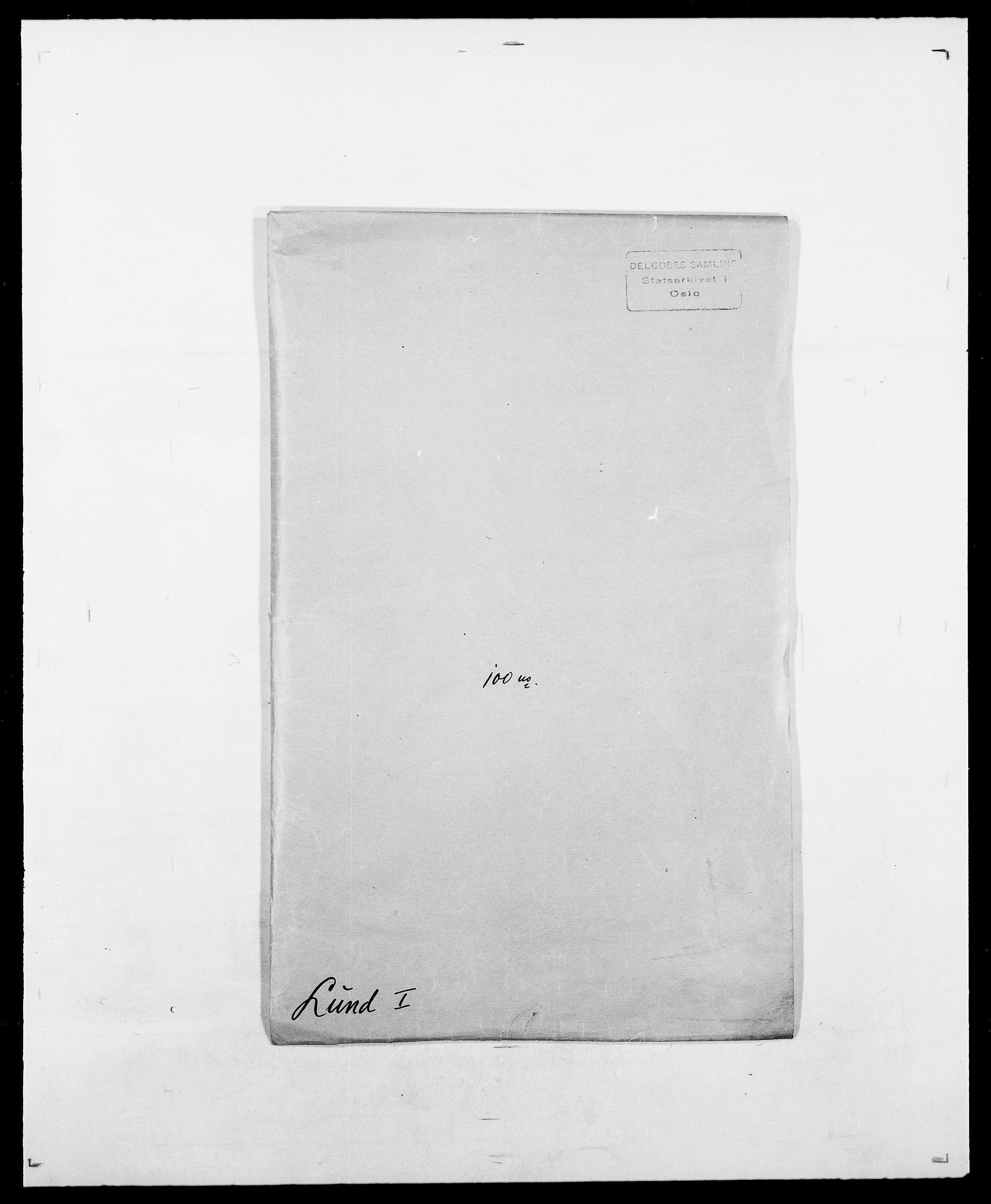 SAO, Delgobe, Charles Antoine - samling, D/Da/L0024: Lobech - Lærum, s. 400