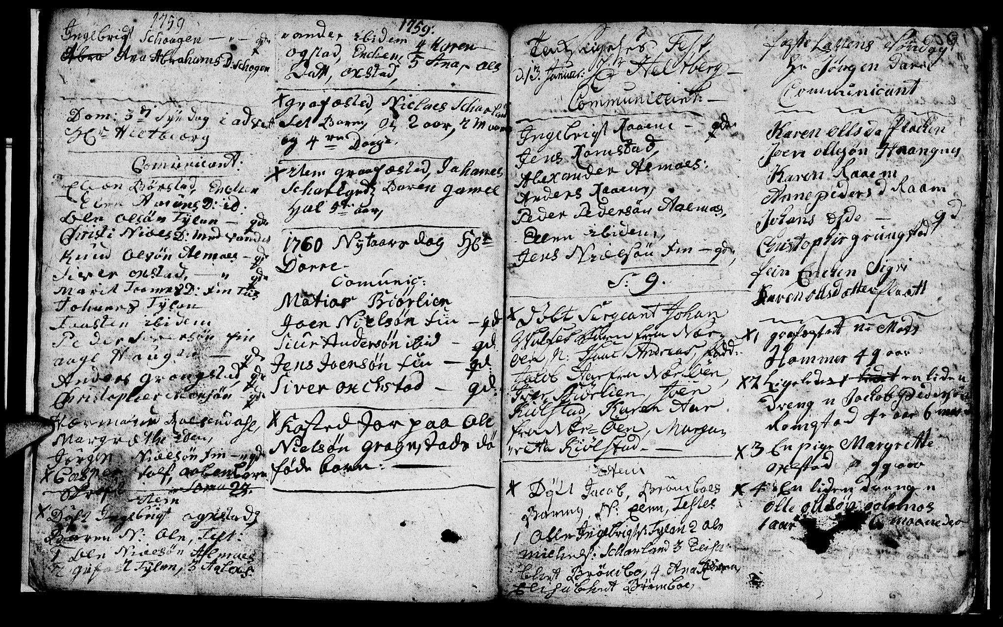 SAT, Ministerialprotokoller, klokkerbøker og fødselsregistre - Nord-Trøndelag, 765/L0561: Ministerialbok nr. 765A02, 1758-1765, s. 9