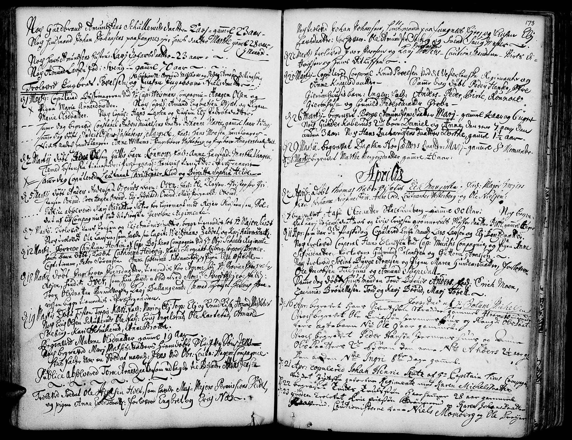 SAH, Vinger prestekontor, Ministerialbok nr. 1, 1689-1729, s. 173