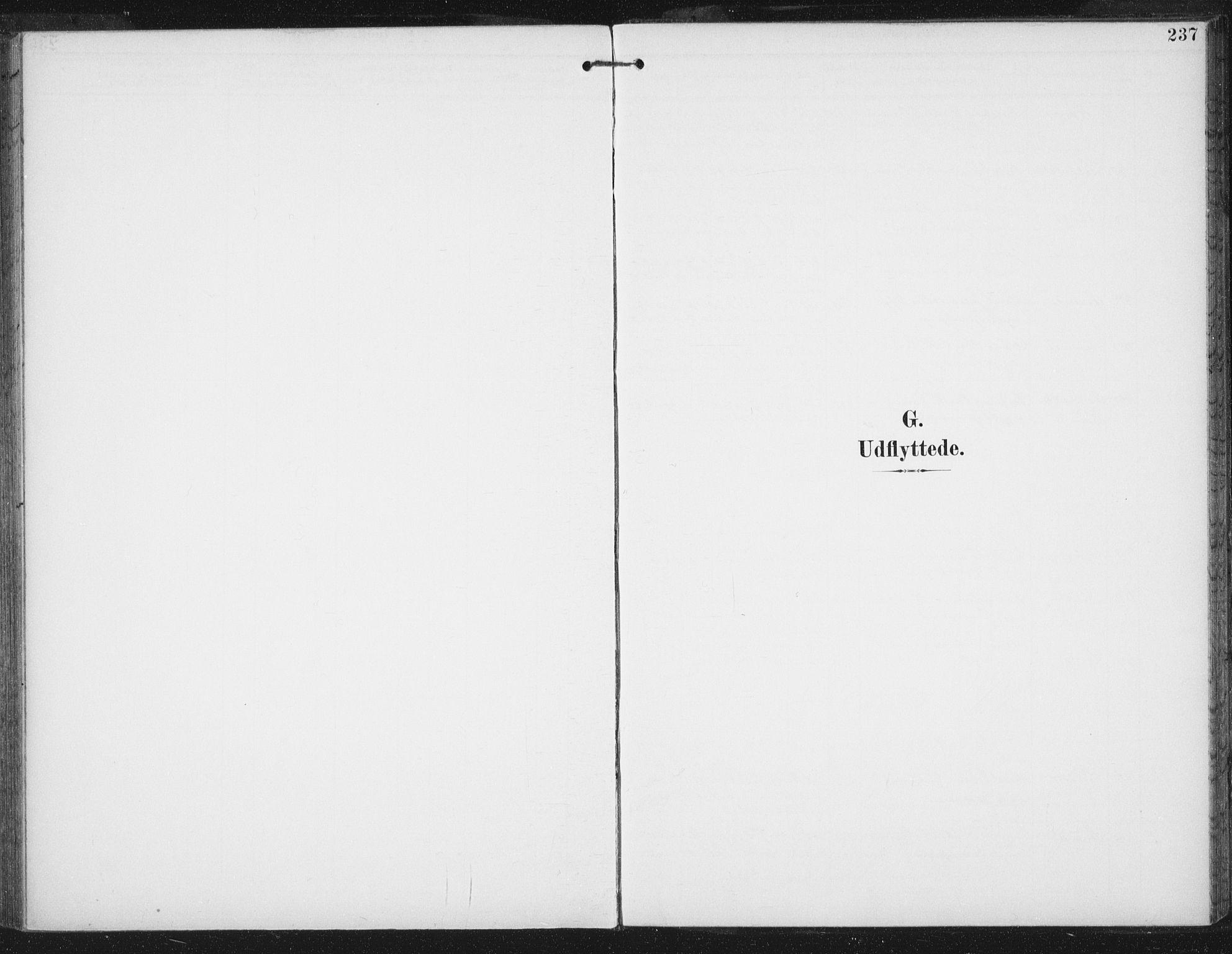 SAT, Ministerialprotokoller, klokkerbøker og fødselsregistre - Sør-Trøndelag, 674/L0872: Ministerialbok nr. 674A04, 1897-1907, s. 237