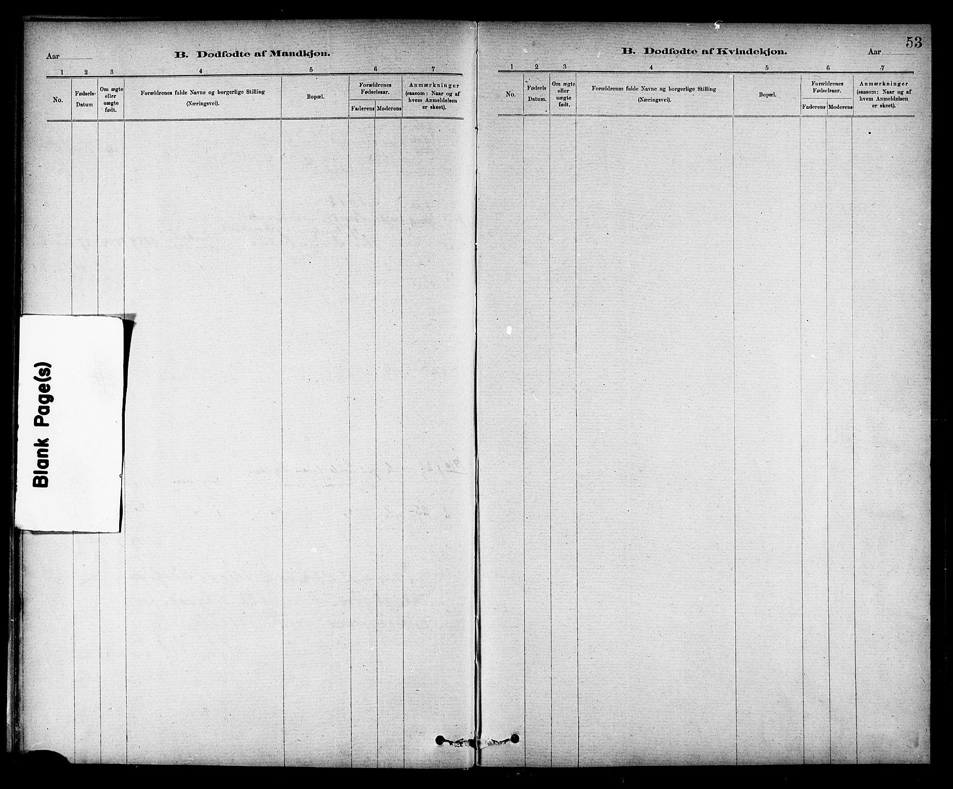 SAT, Ministerialprotokoller, klokkerbøker og fødselsregistre - Nord-Trøndelag, 732/L0318: Klokkerbok nr. 732C02, 1881-1911, s. 53