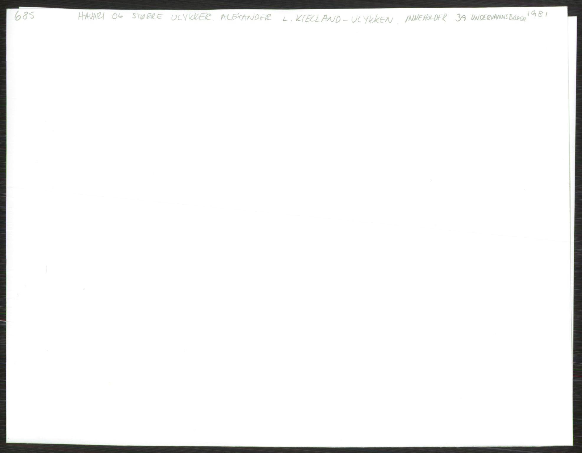 RA, Handelsdepartementet, Skipsfartsavdelingen, D/De/L0500: Skipsfart. Andre spørsmål, 1981