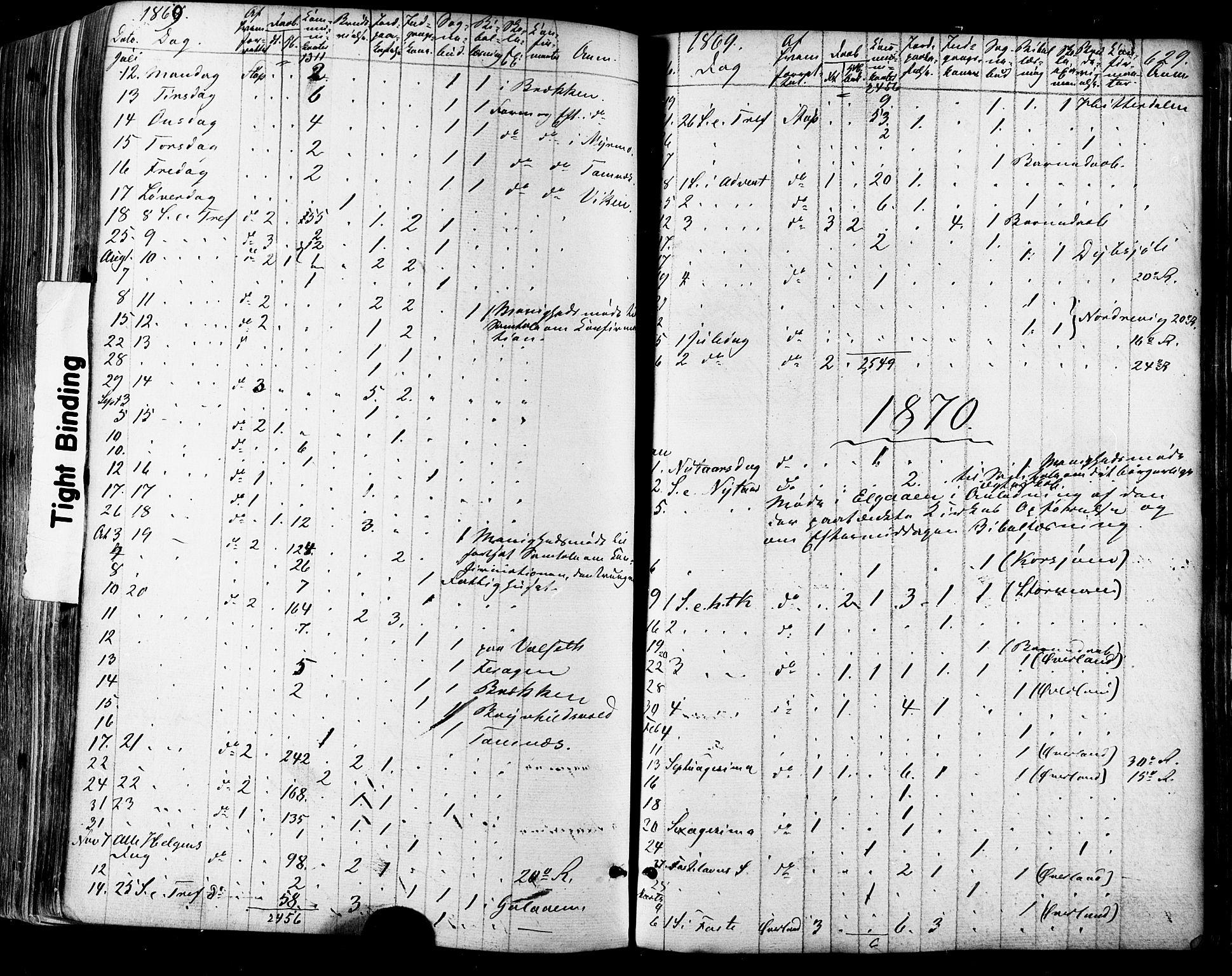 SAT, Ministerialprotokoller, klokkerbøker og fødselsregistre - Sør-Trøndelag, 681/L0932: Ministerialbok nr. 681A10, 1860-1878, s. 629