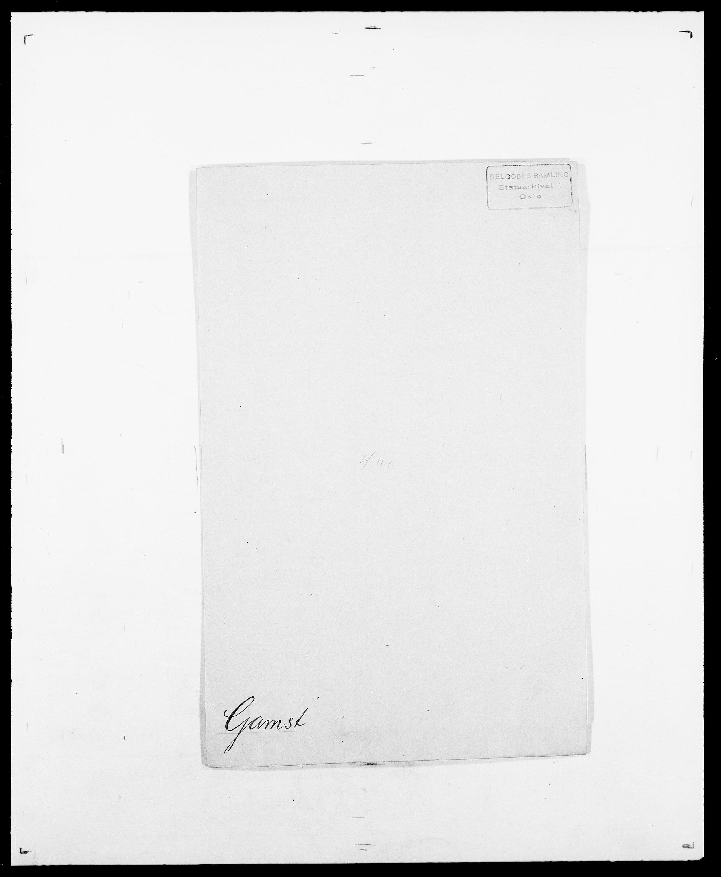 SAO, Delgobe, Charles Antoine - samling, D/Da/L0013: Forbos - Geving, s. 478