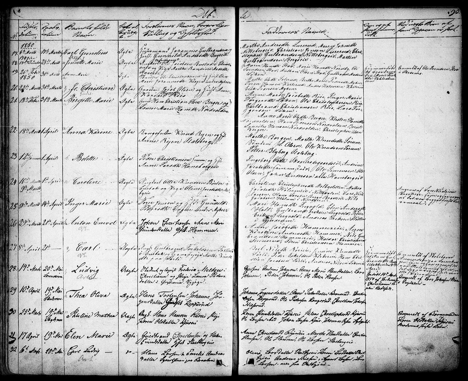 SAO, Skedsmo prestekontor Kirkebøker, F/Fa/L0009: Ministerialbok nr. I 9, 1830-1853, s. 90