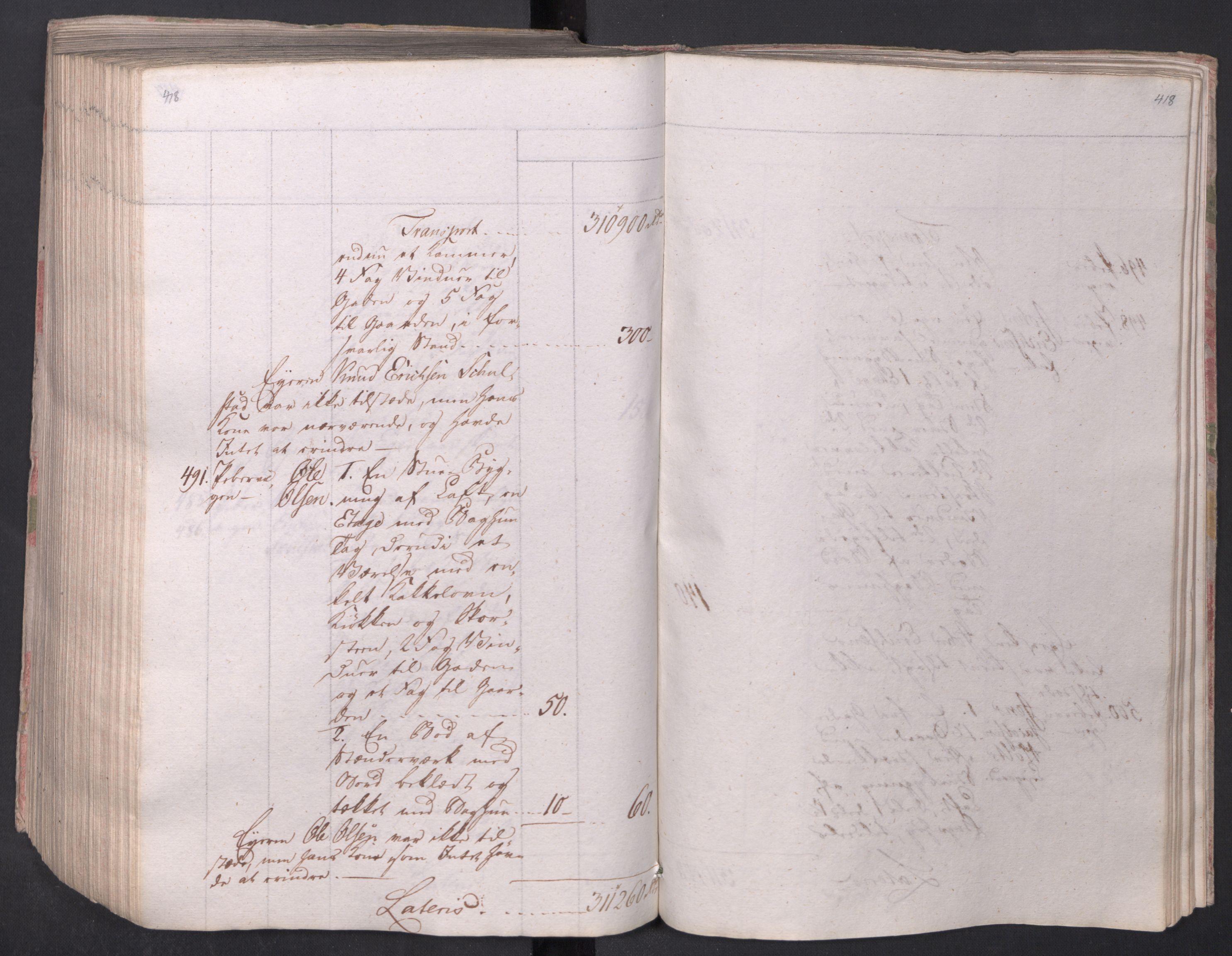 SAO, Kristiania stiftamt, I/Ia/L0015: Branntakster, 1797, s. 418