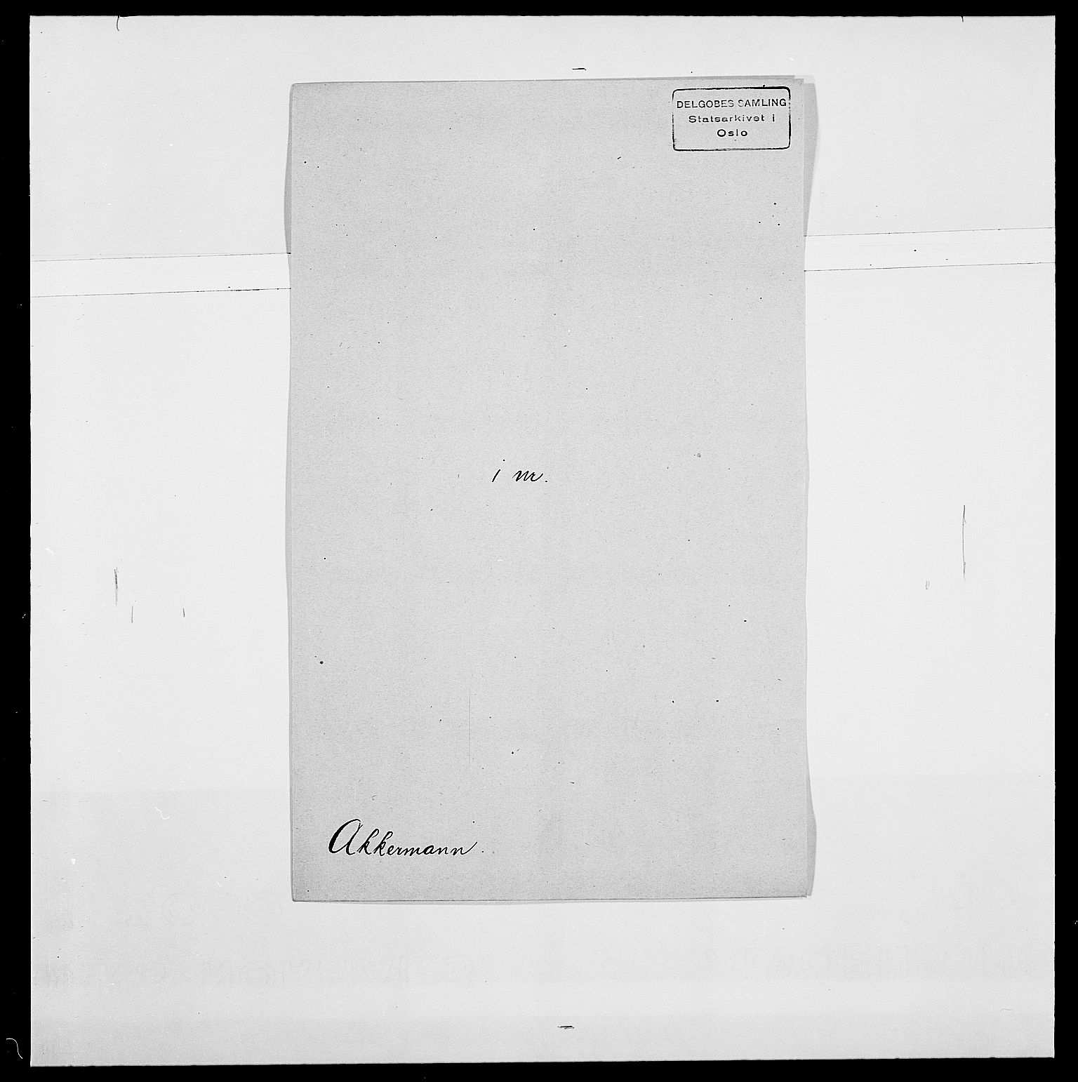 SAO, Delgobe, Charles Antoine - samling, D/Da/L0001: Aabye - Angerman, s. 353