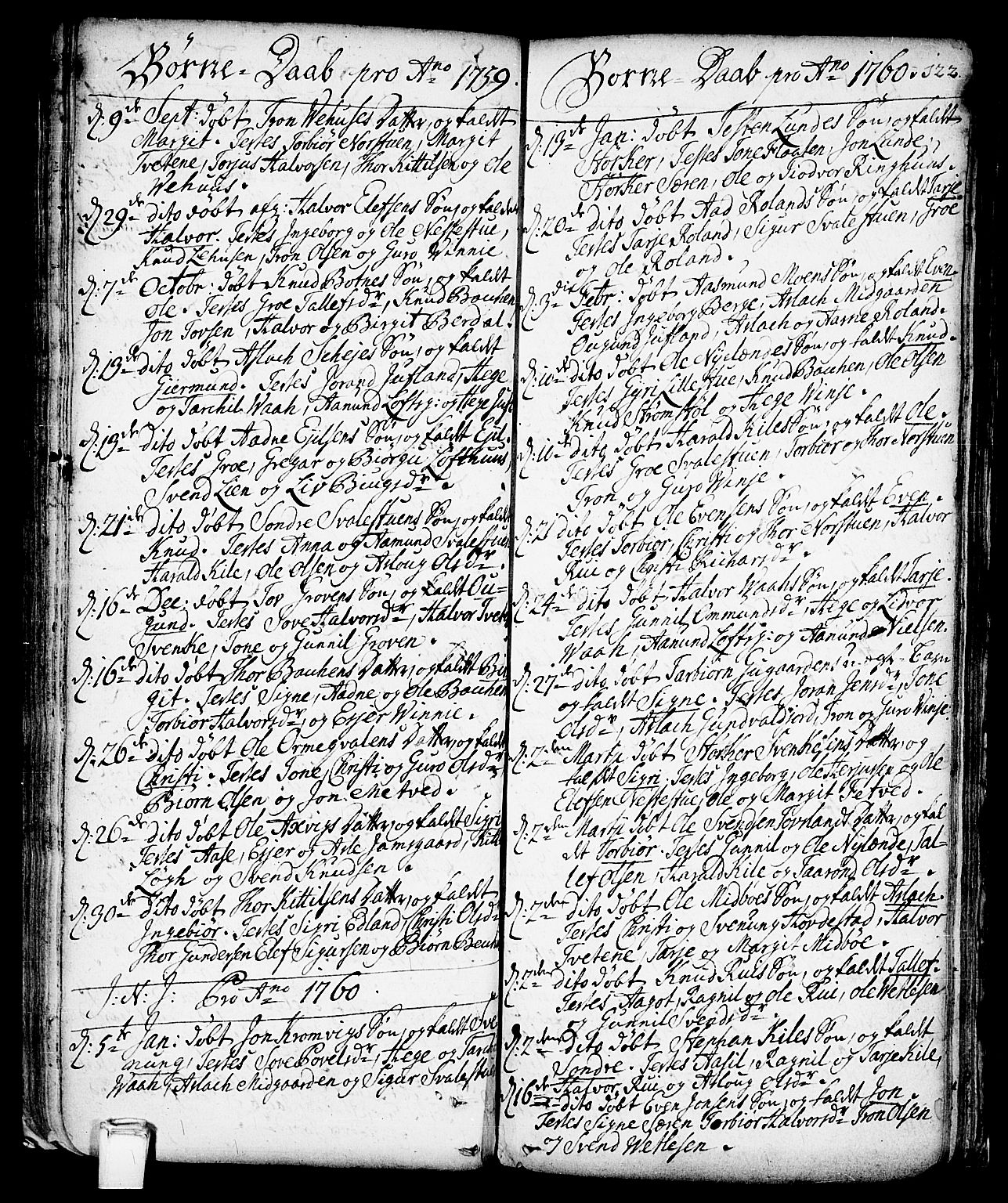 SAKO, Vinje kirkebøker, F/Fa/L0001: Ministerialbok nr. I 1, 1717-1766, s. 122