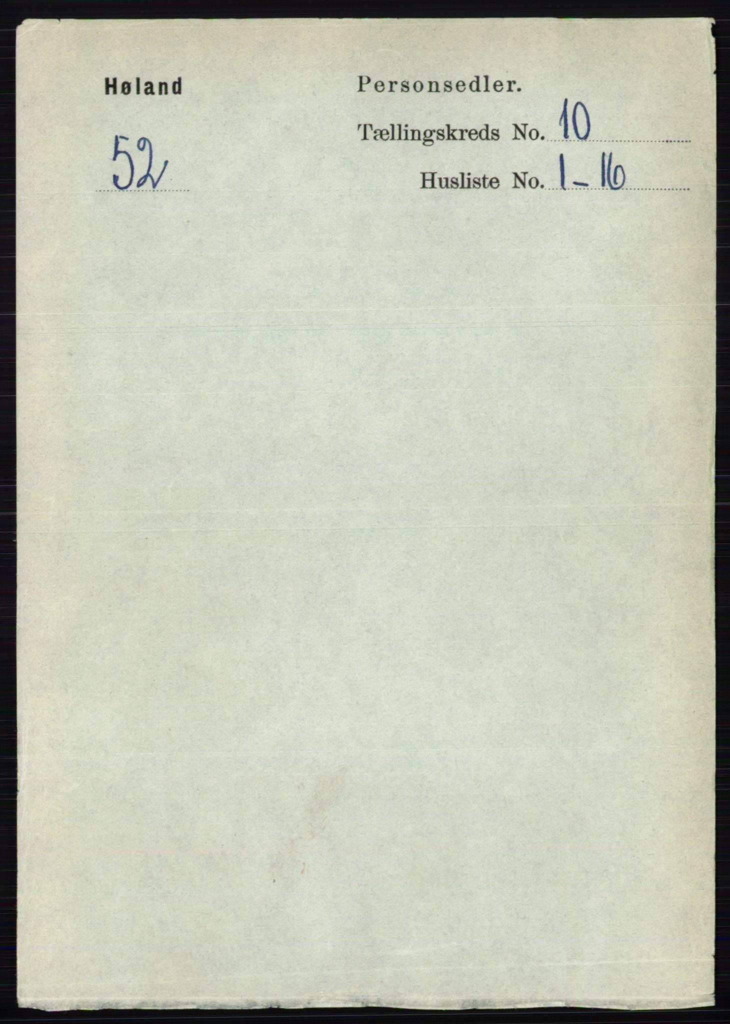 RA, Folketelling 1891 for 0221 Høland herred, 1891, s. 6601