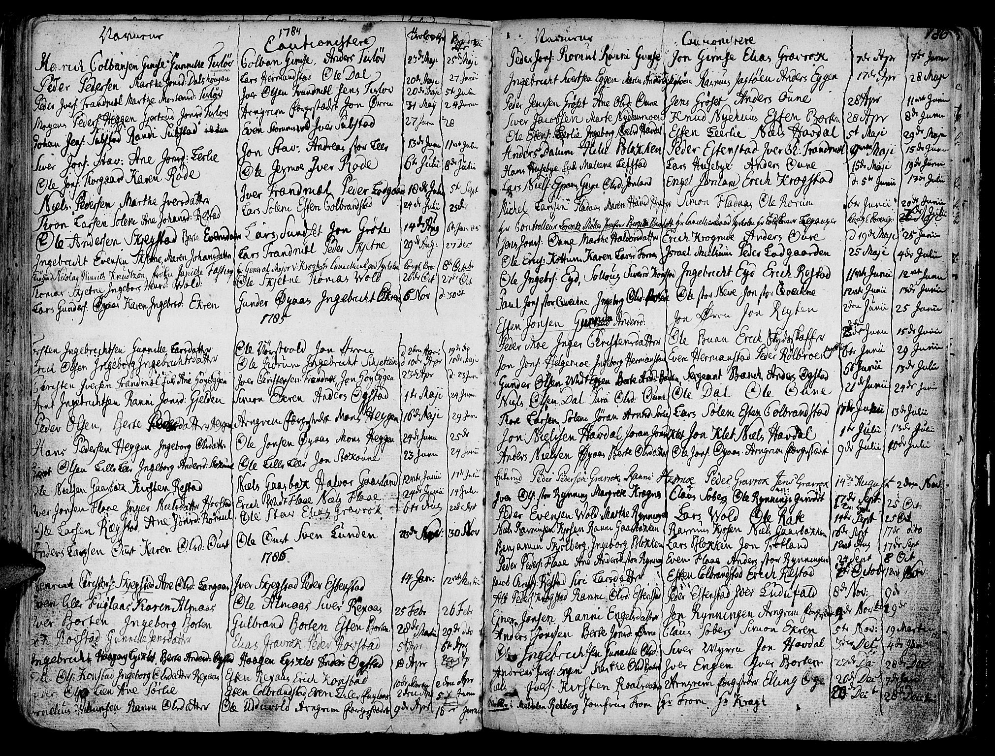 SAT, Ministerialprotokoller, klokkerbøker og fødselsregistre - Sør-Trøndelag, 691/L1061: Ministerialbok nr. 691A02 /1, 1768-1815, s. 186