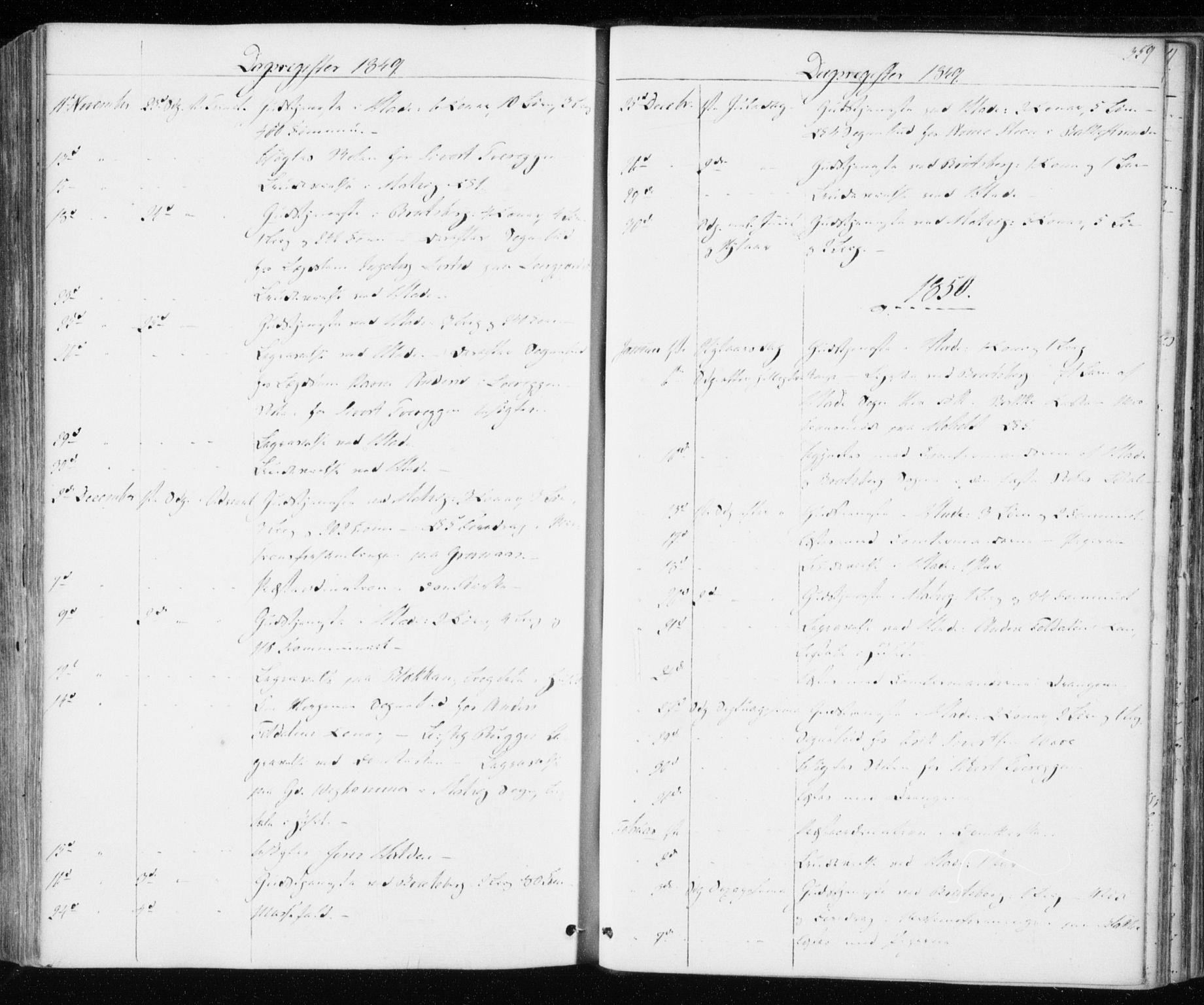 SAT, Ministerialprotokoller, klokkerbøker og fødselsregistre - Sør-Trøndelag, 606/L0291: Ministerialbok nr. 606A06, 1848-1856, s. 359