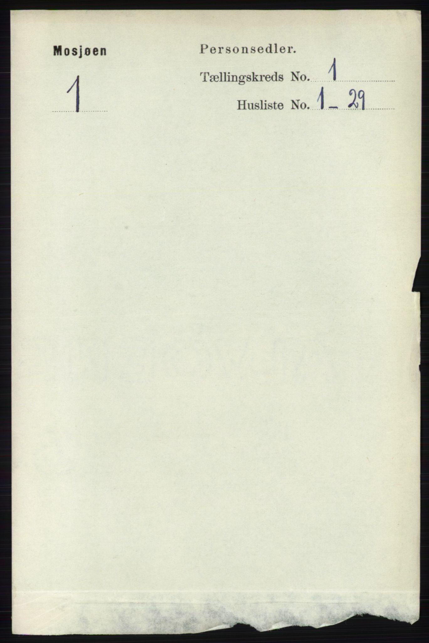 RA, Folketelling 1891 for 1802 Mosjøen ladested, 1891, s. 179
