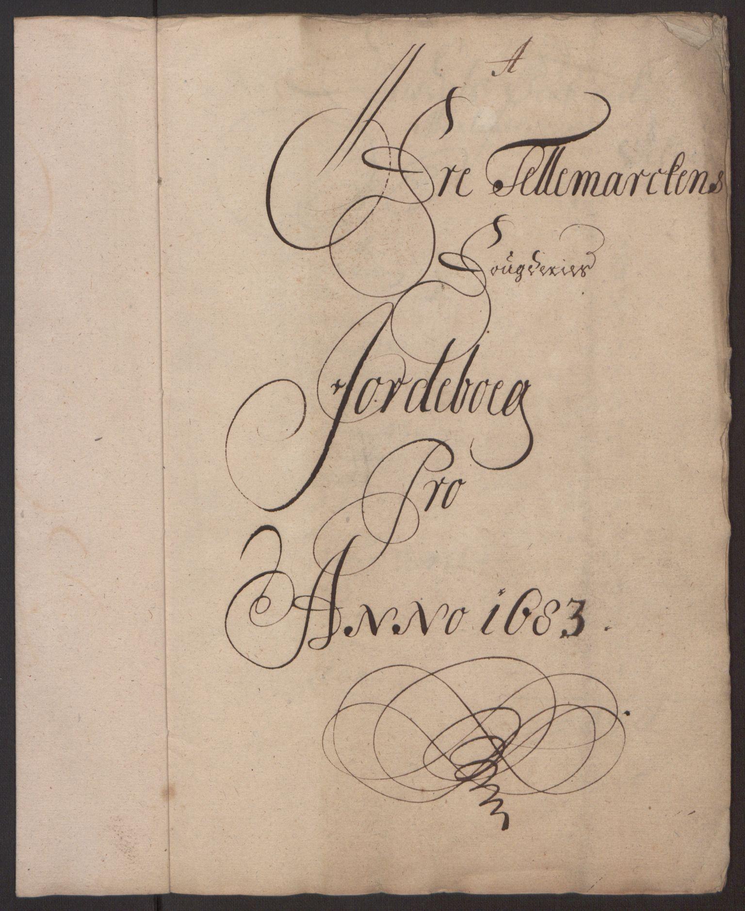 RA, Rentekammeret inntil 1814, Reviderte regnskaper, Fogderegnskap, R35/L2079: Fogderegnskap Øvre og Nedre Telemark, 1680-1684, s. 4