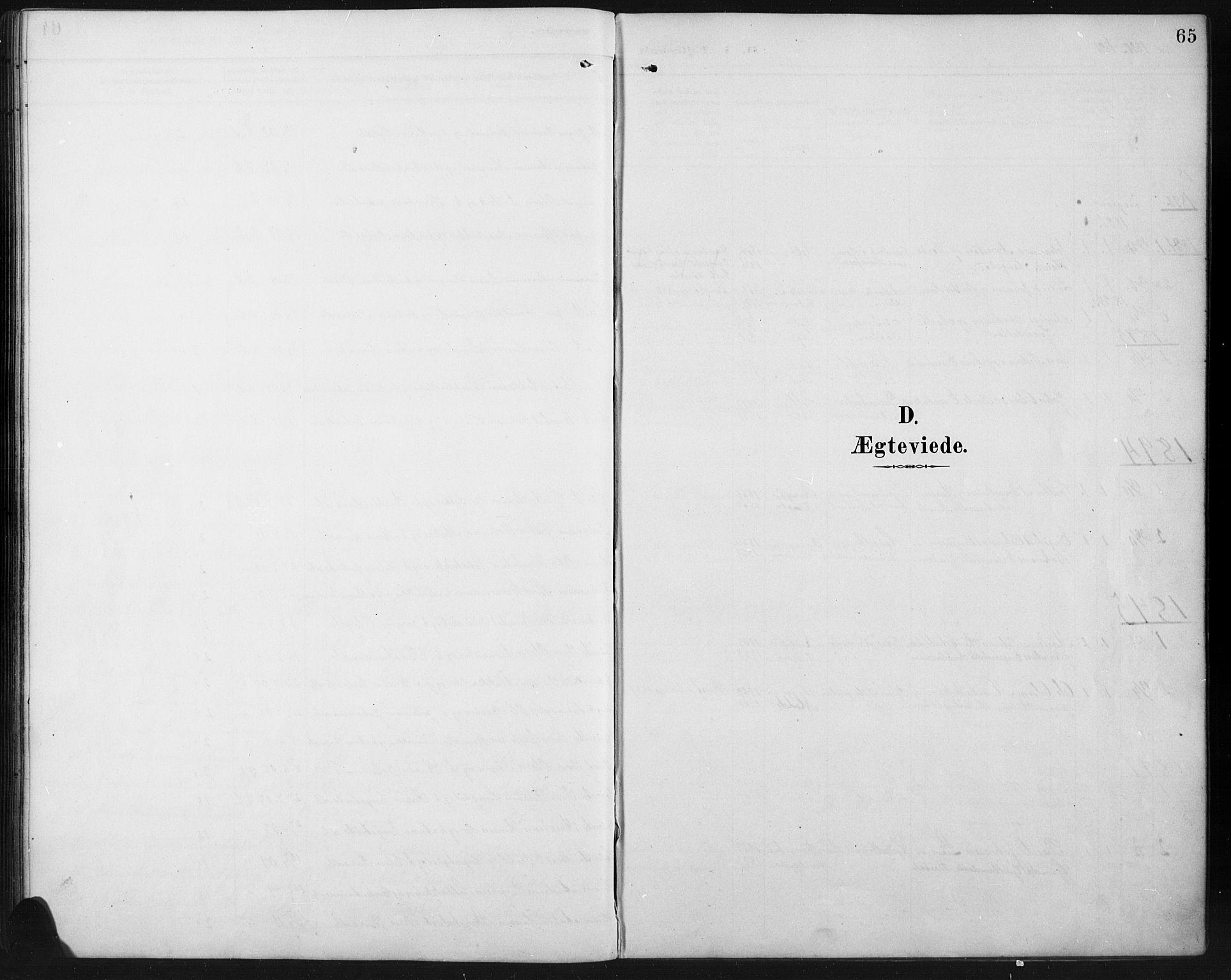 SAH, Ringebu prestekontor, Klokkerbok nr. 8, 1890-1922, s. 65