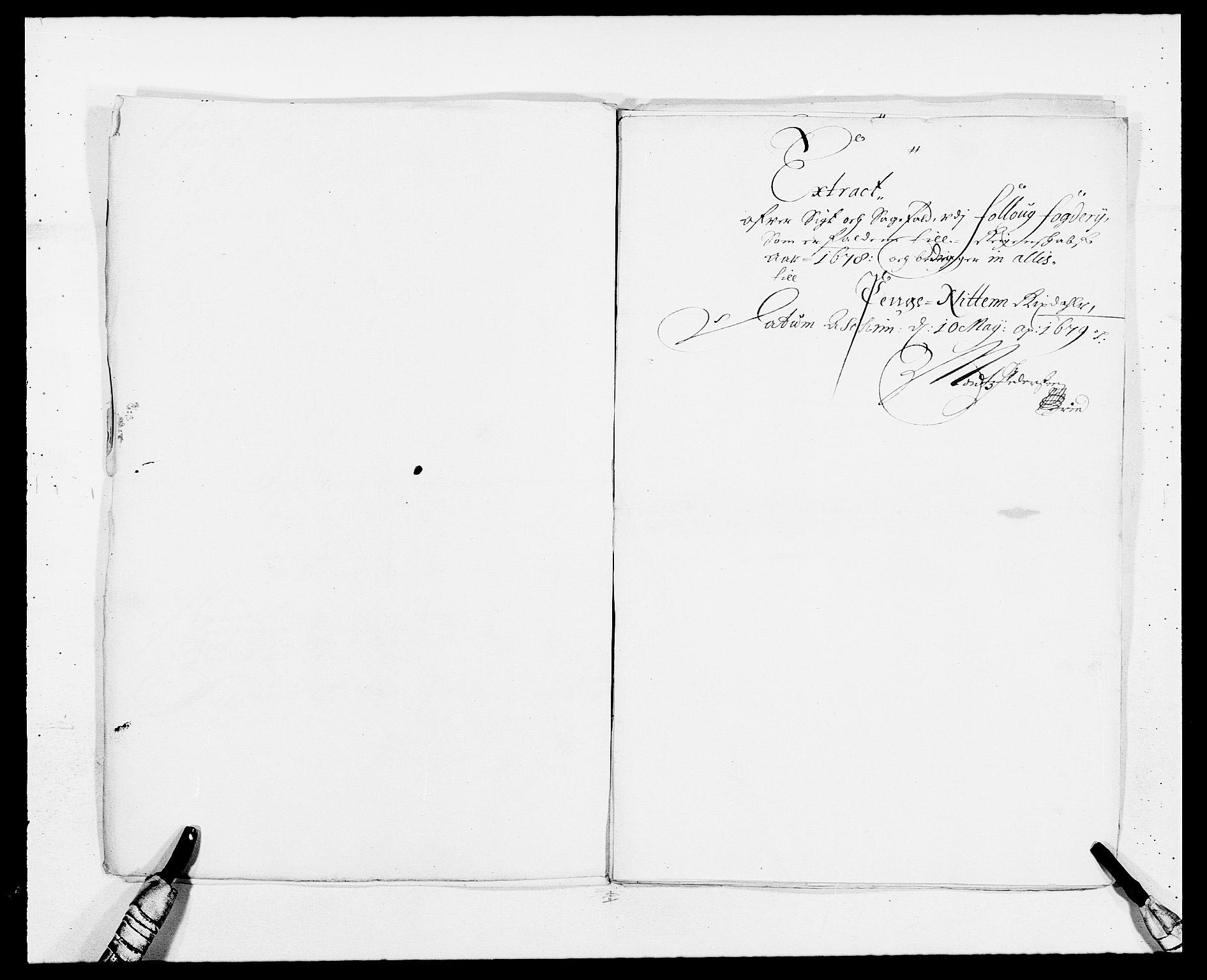 RA, Rentekammeret inntil 1814, Reviderte regnskaper, Fogderegnskap, R09/L0427: Fogderegnskap Follo, 1678, s. 251