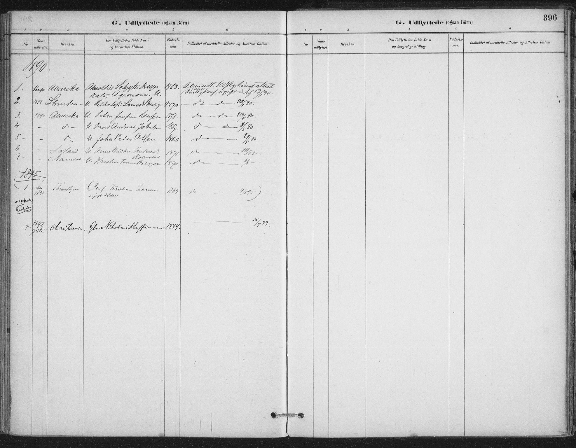 SAT, Ministerialprotokoller, klokkerbøker og fødselsregistre - Nordland, 888/L1244: Ministerialbok nr. 888A10, 1880-1890, s. 396