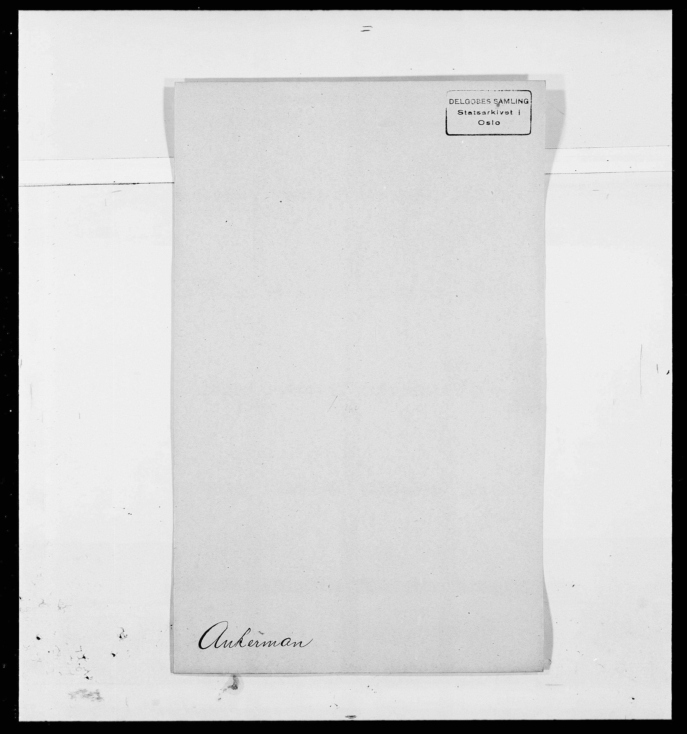 SAO, Delgobe, Charles Antoine - samling, D/Da/L0002: Anker, Ancher - Bauner, s. 179