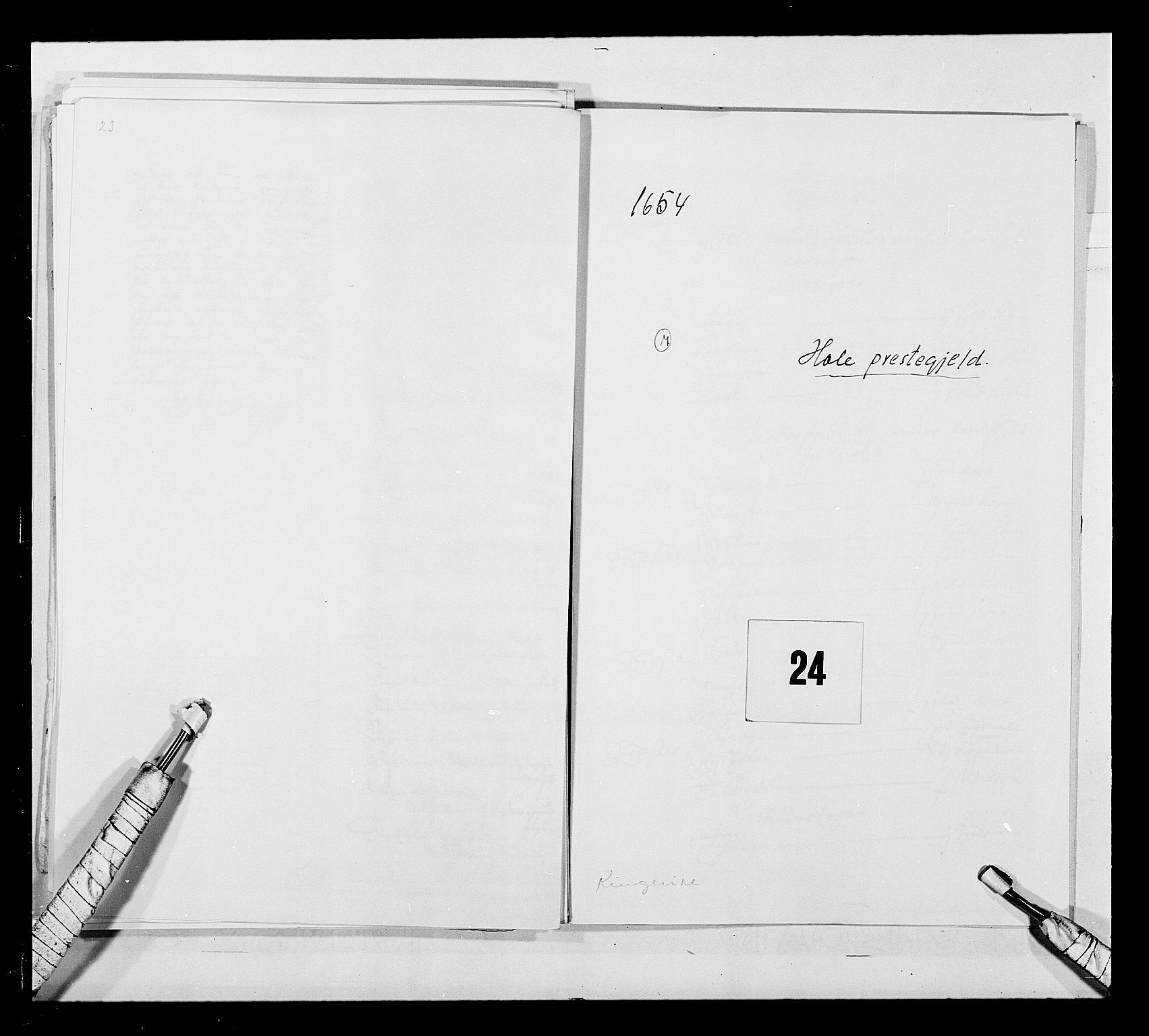 RA, Stattholderembetet 1572-1771, Ek/L0030: Jordebøker 1633-1658:, 1654, s. 101